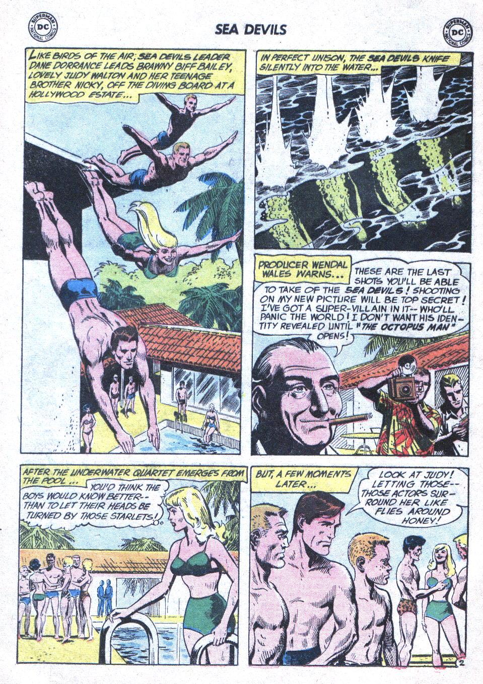 Read online Sea Devils comic -  Issue #1 - 5