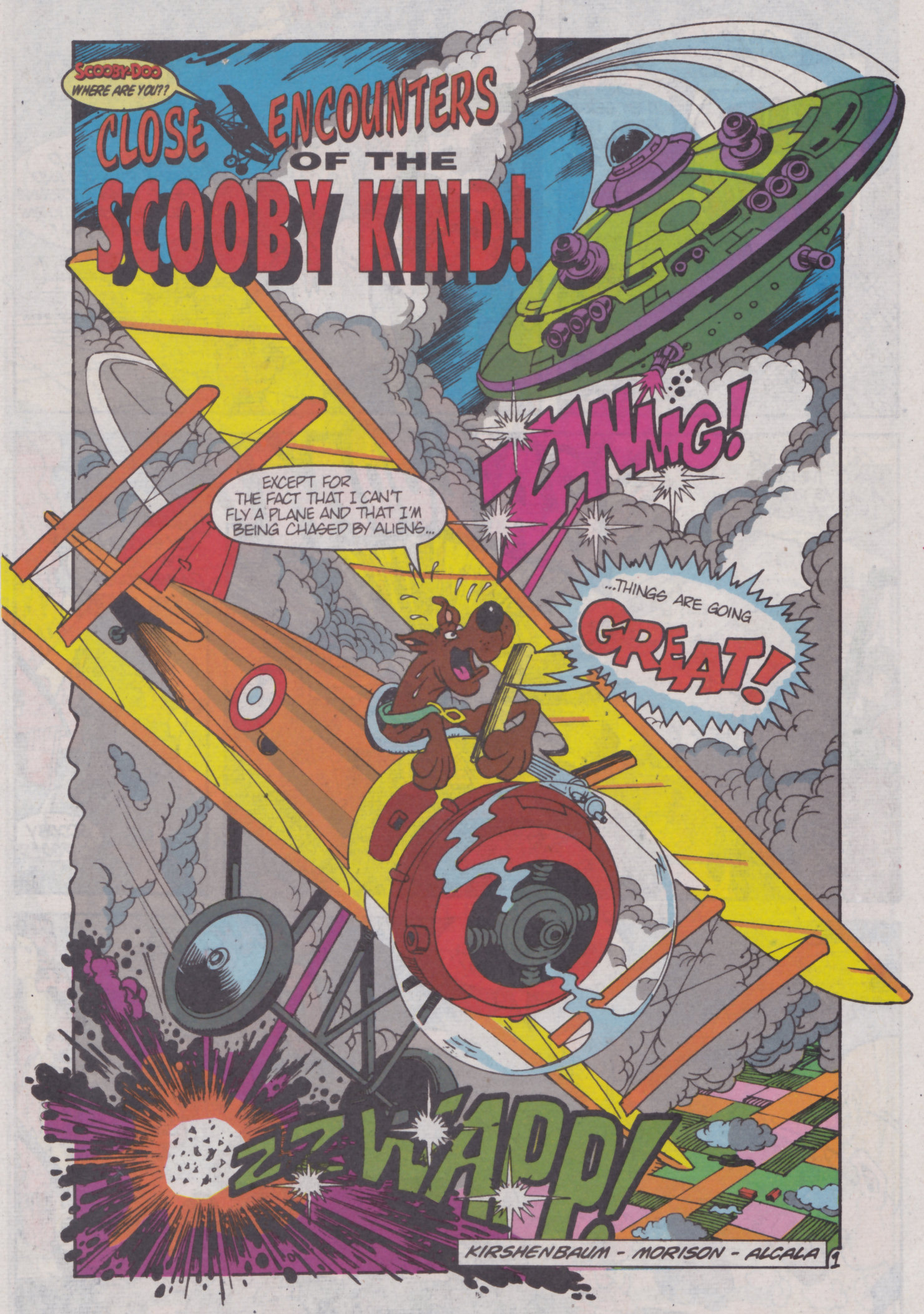 Read online Scooby-Doo (1995) comic -  Issue #4 - 15