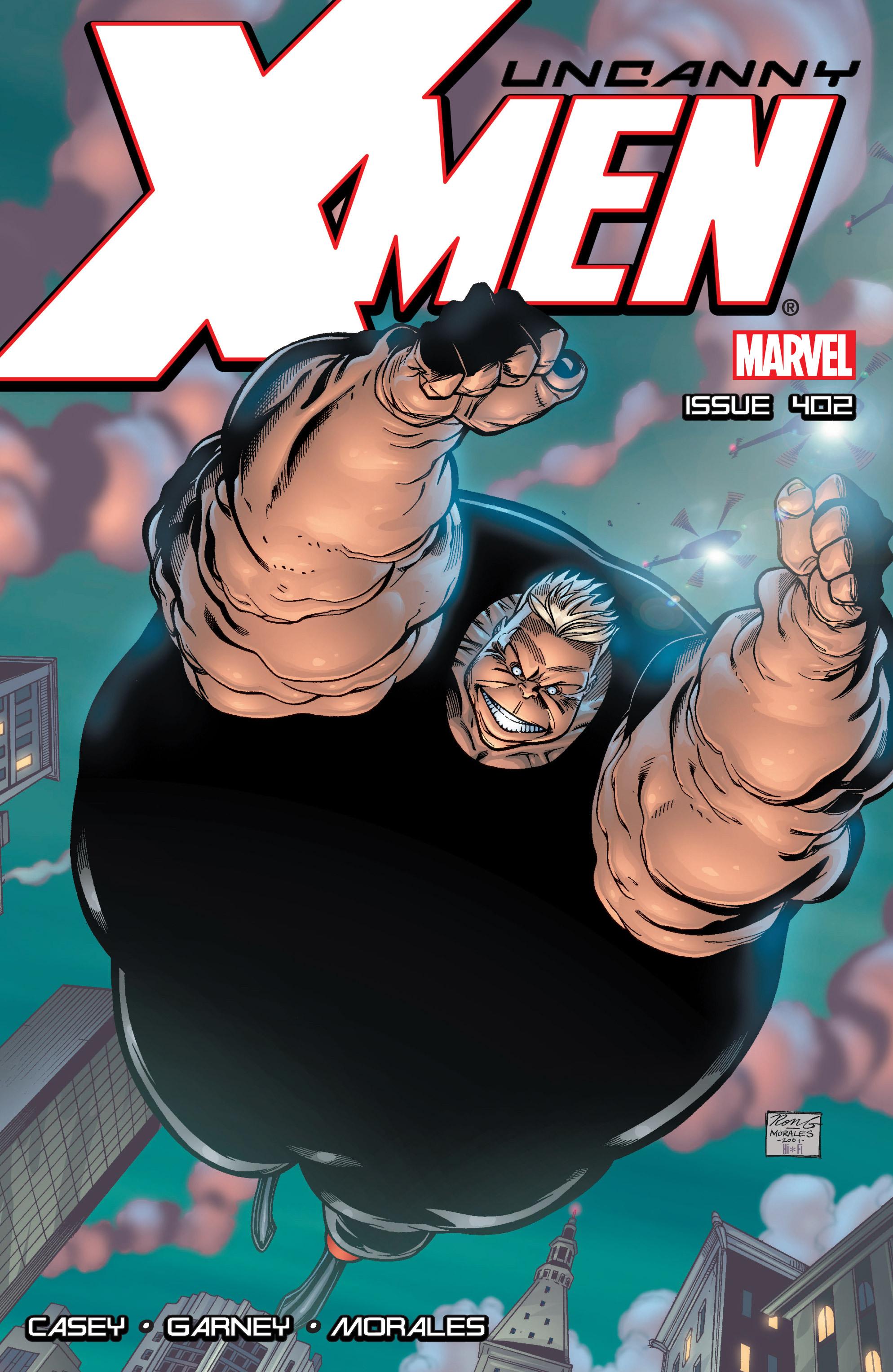 Uncanny X-Men (1963) 402 Page 1