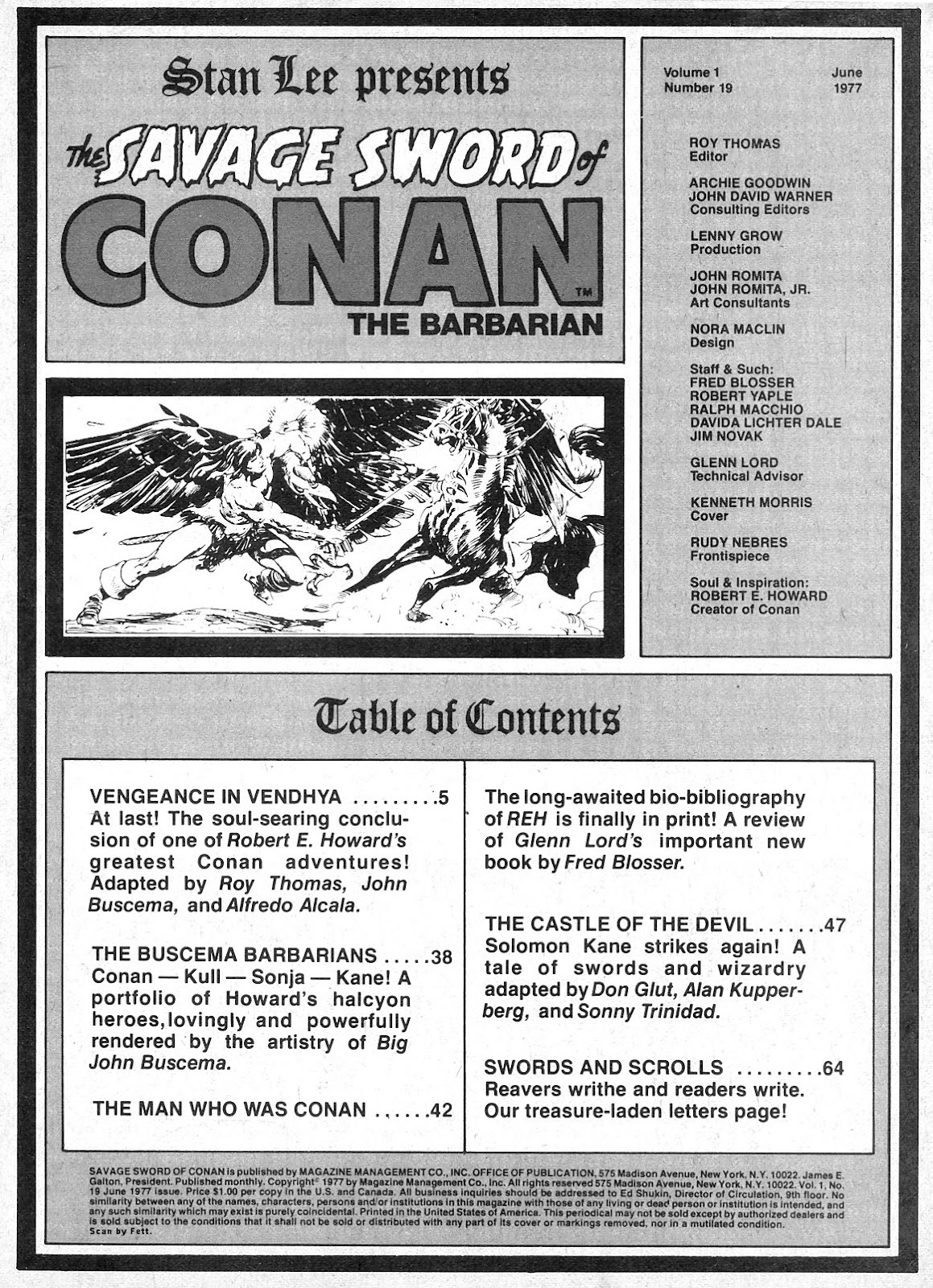 The Savage Sword Of Conan Issue #19 #20 - English 3
