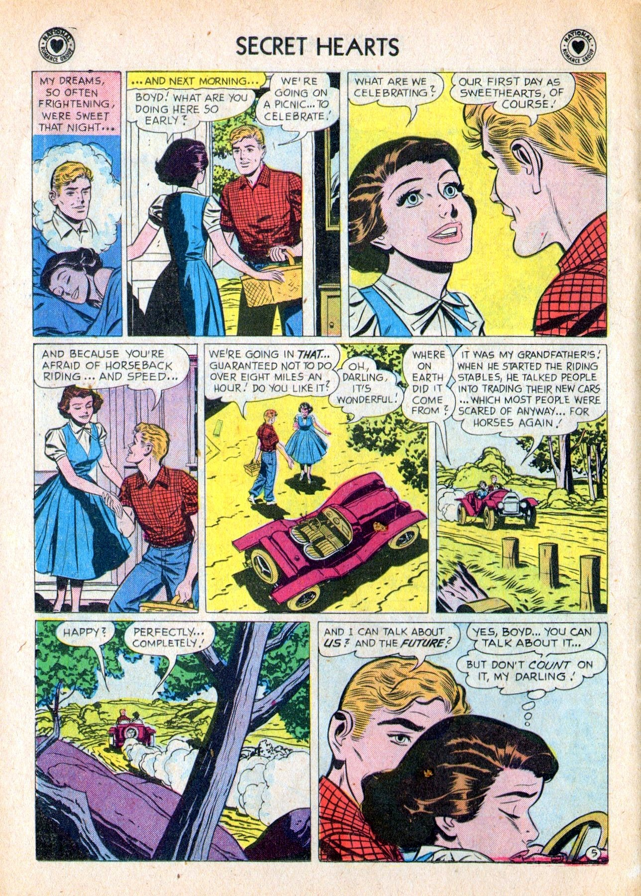 Read online Secret Hearts comic -  Issue #53 - 14