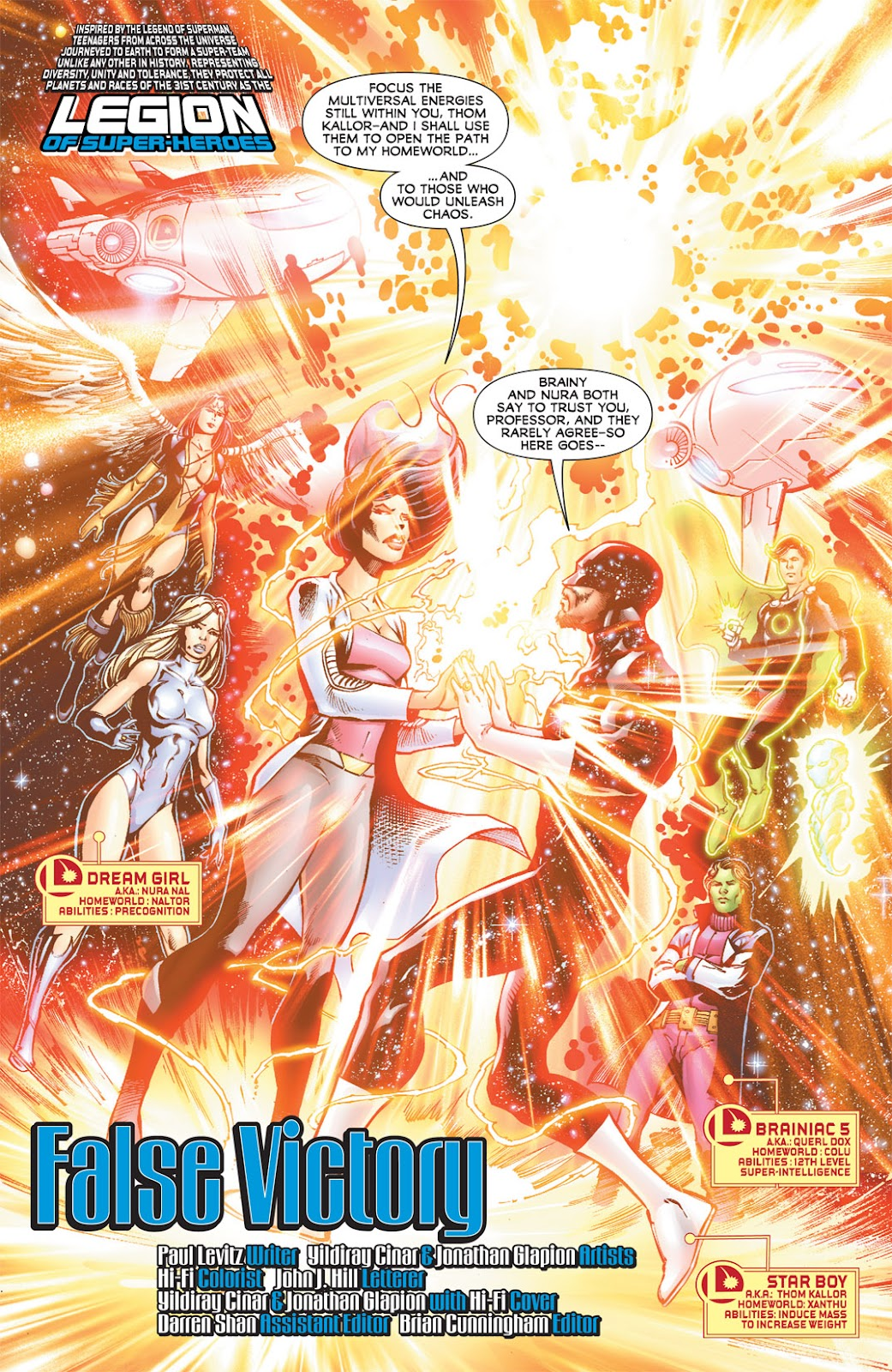 Legion of Super-Heroes (2010) Issue #15 #16 - English 2