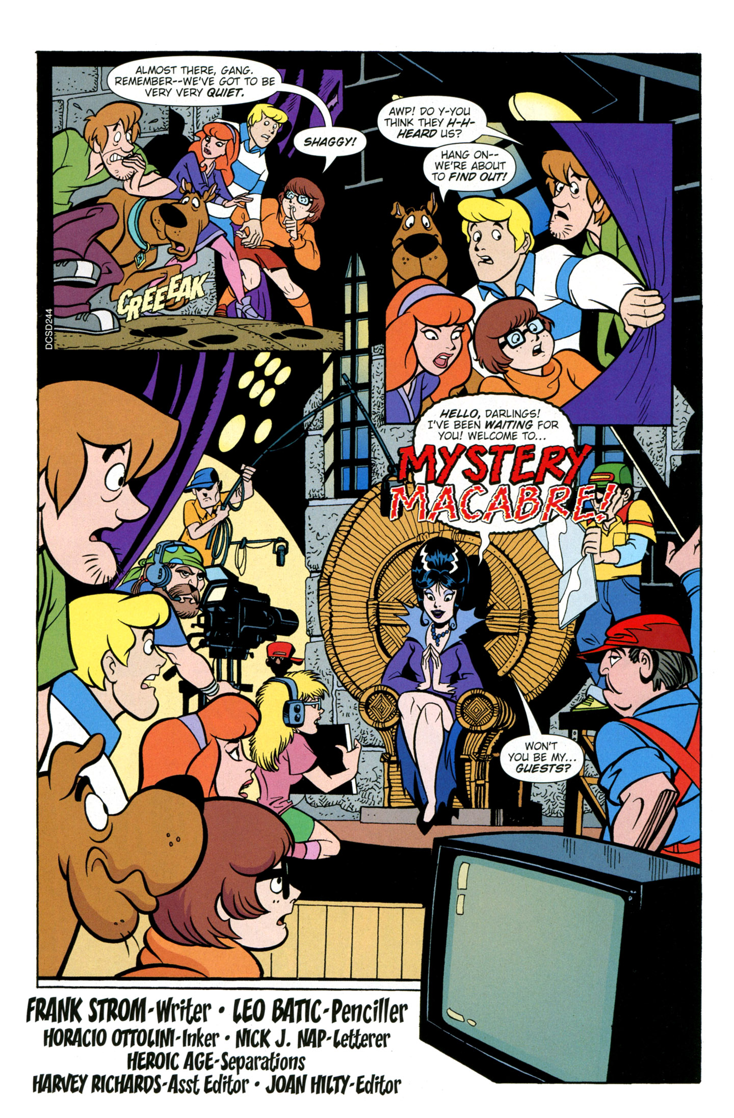 Read online Scooby-Doo: Where Are You? comic -  Issue #26 - 17