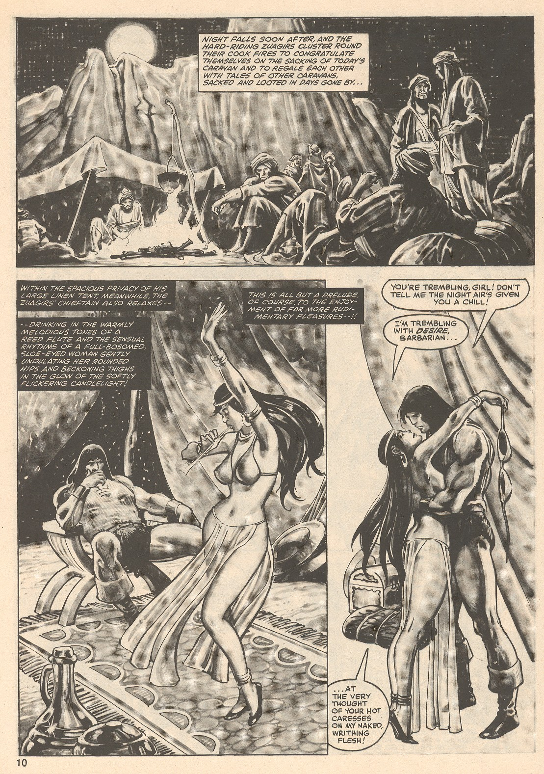 The Savage Sword Of Conan Issue #76 #77 - English 10