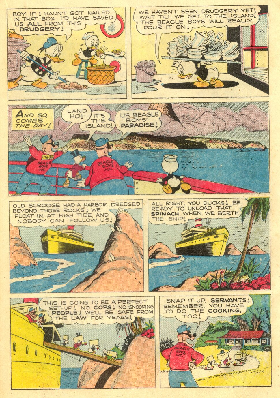 Uncle Scrooge (1953) Issue #4 #4 - English 19