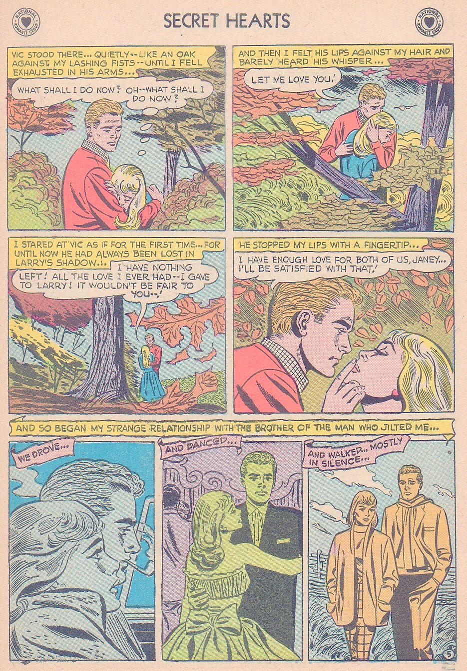 Read online Secret Hearts comic -  Issue #44 - 31