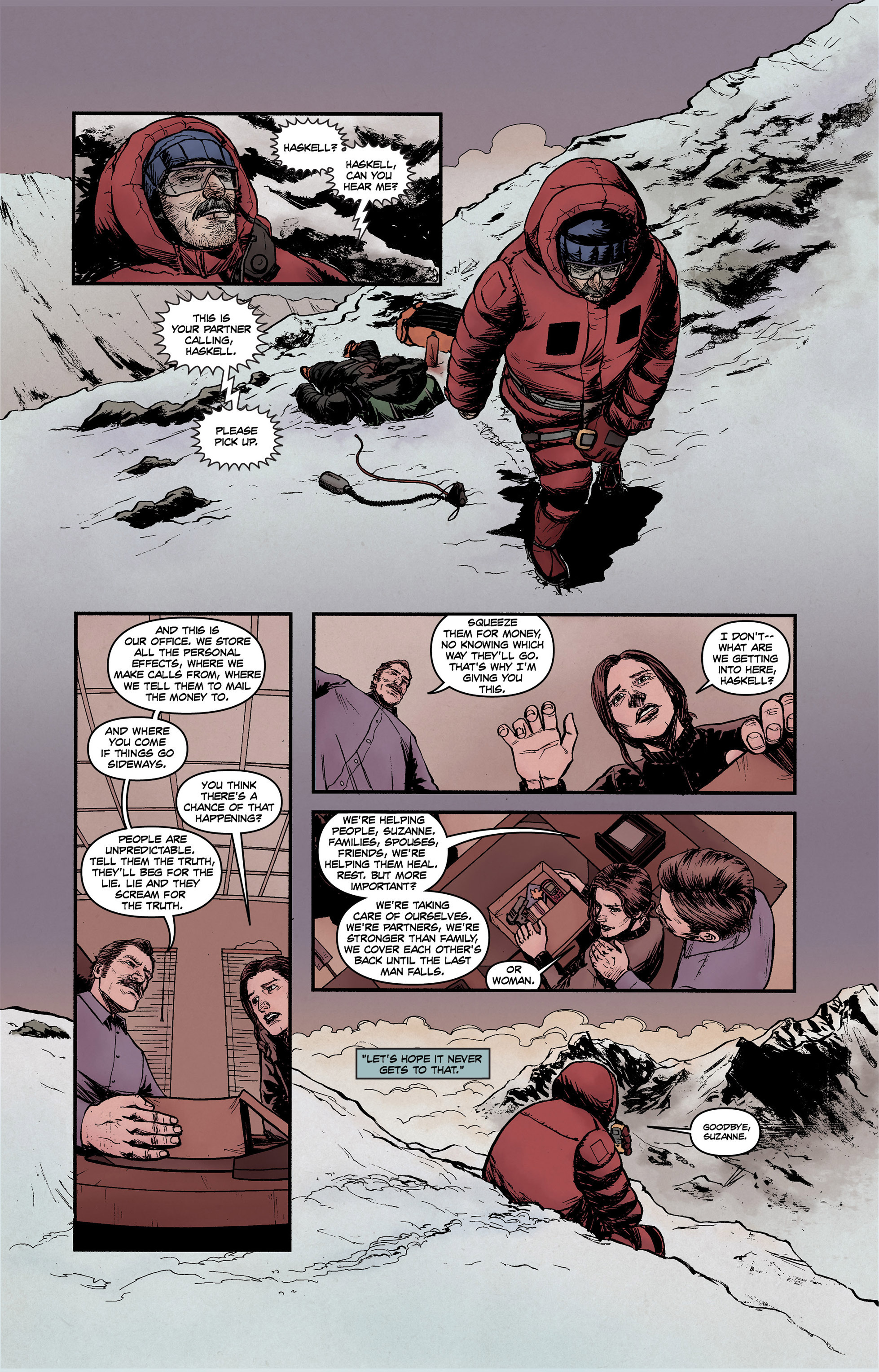 Read online High Crimes comic -  Issue #10 - 14
