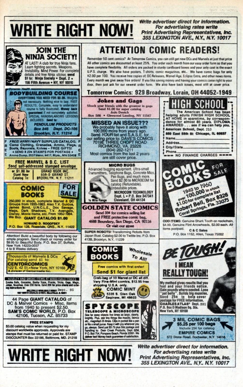 Aquaman (1986) Issue #3 #3 - English 26