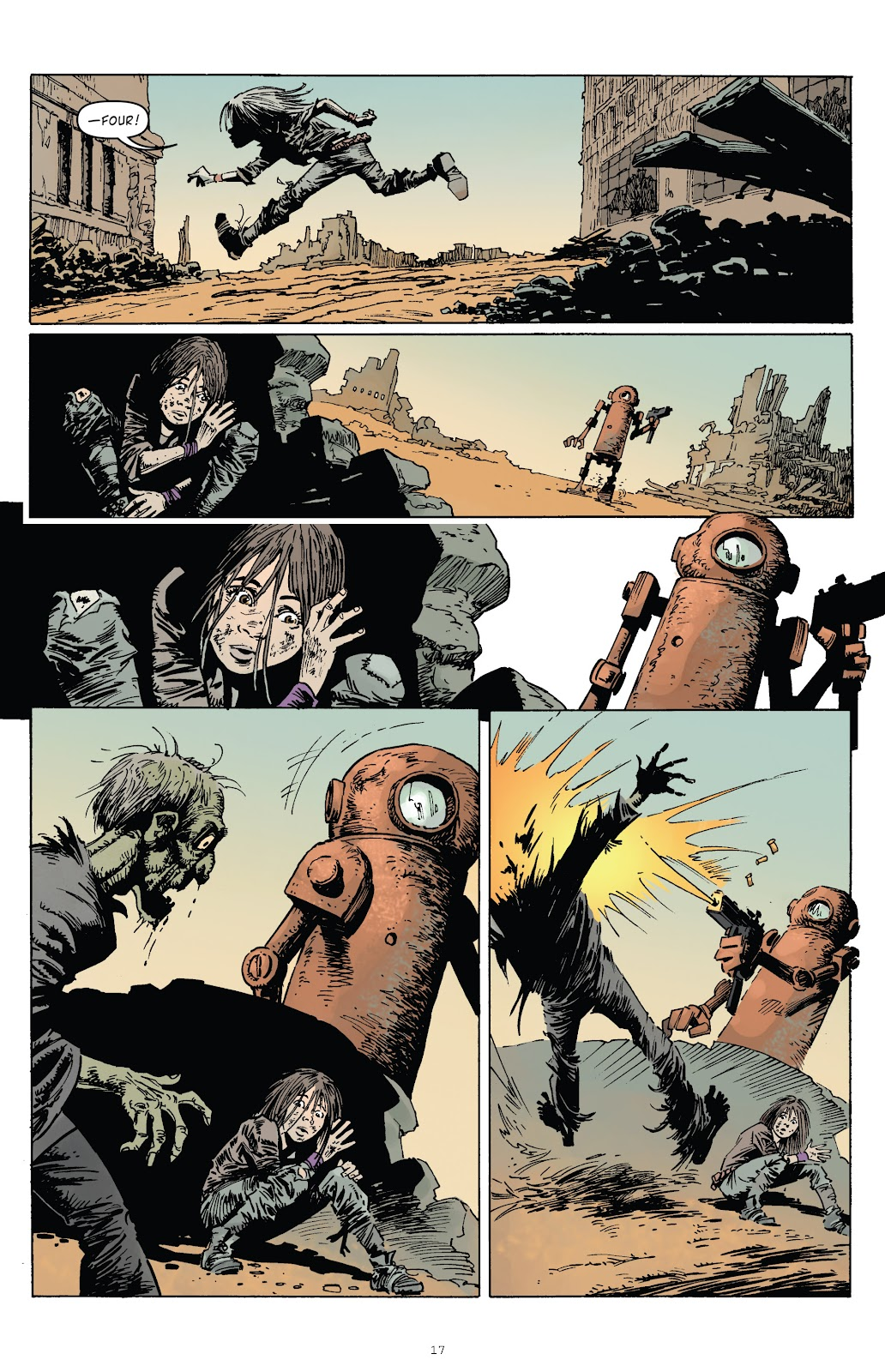 Zombies vs Robots (2015) Issue #1 Page 17