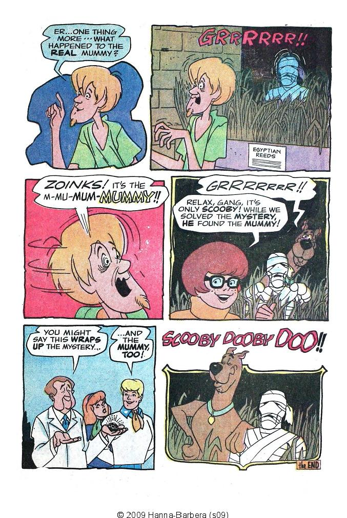 Read online Scooby-Doo... Where Are You! (1970) comic -  Issue #7 - 33