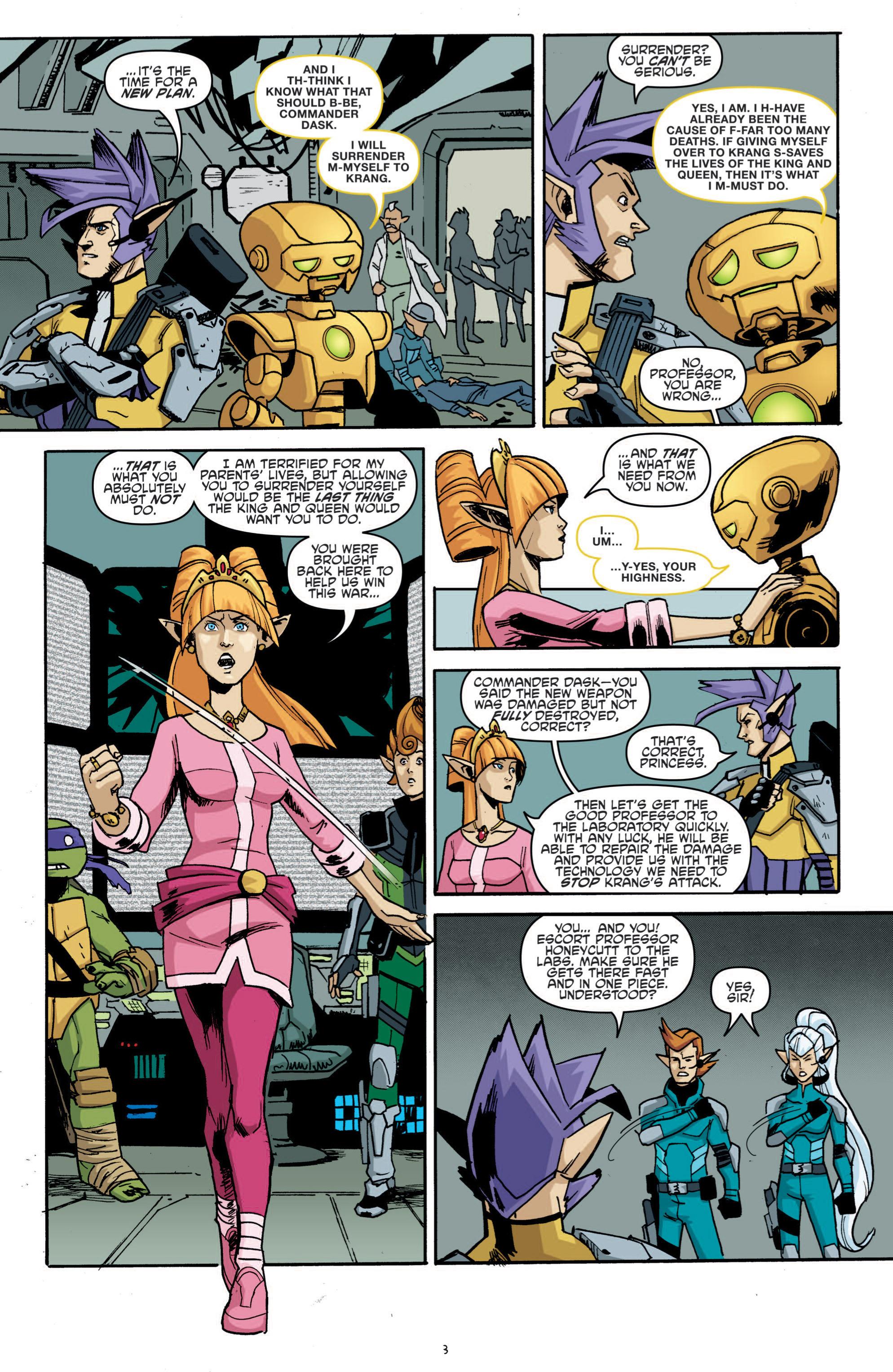 Read online Teenage Mutant Ninja Turtles (2011) comic -  Issue #19 - 7