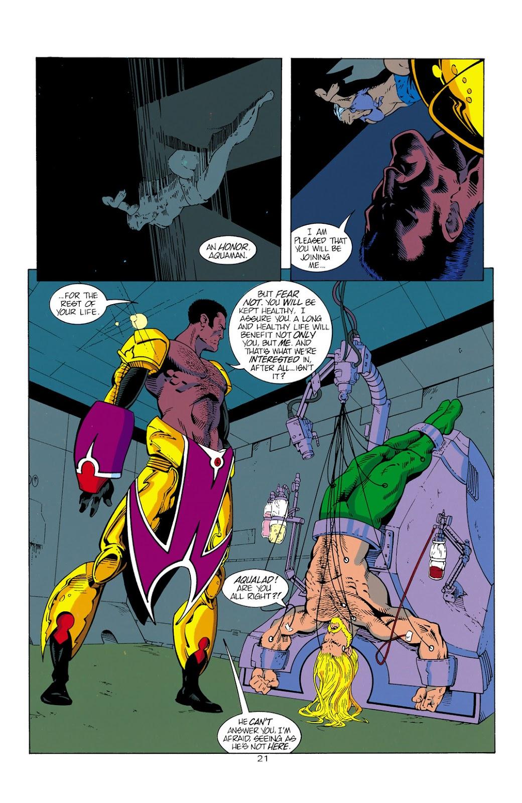 Aquaman (1994) Issue #1 #7 - English 22