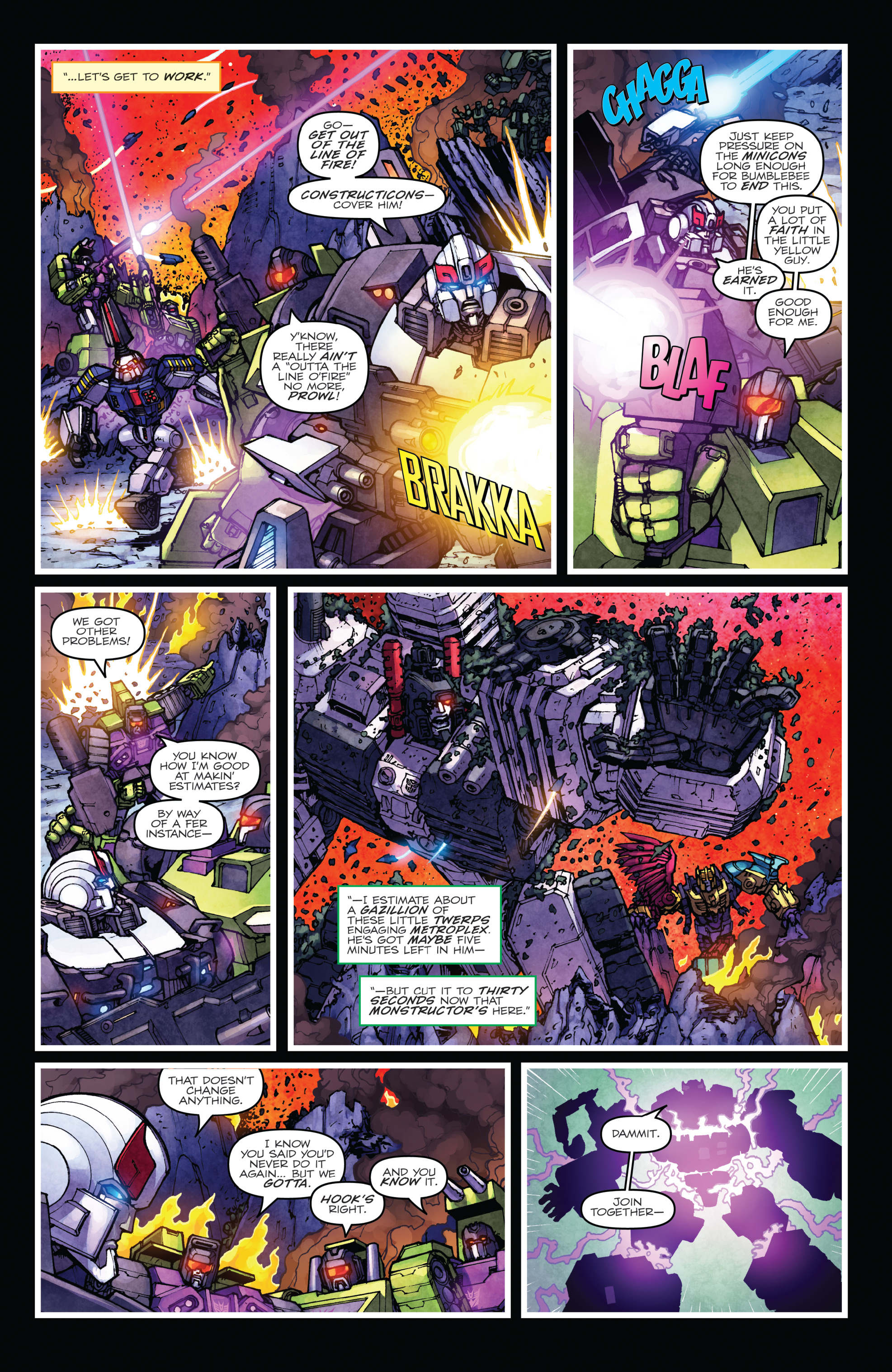 Read online The Transformers: Dark Cybertron Finale comic -  Issue # Full - 112