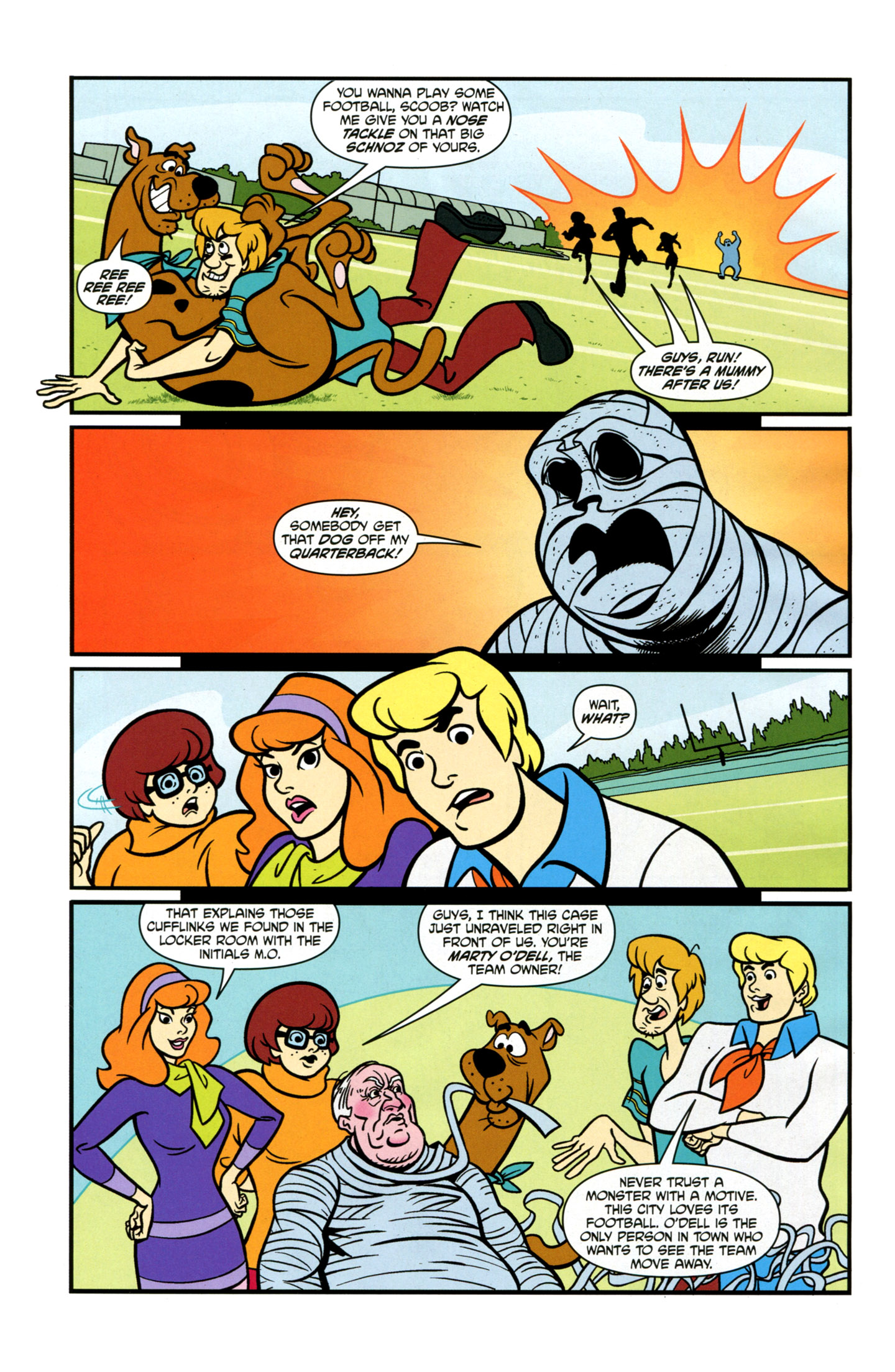 Read online Scooby-Doo: Where Are You? comic -  Issue #21 - 14