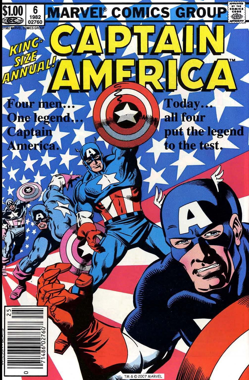 Captain America (1968) _Annual 6 #6 - English 1