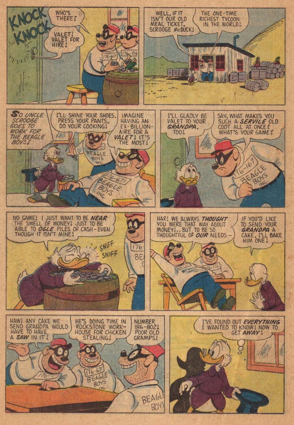 Uncle Scrooge (1953) Issue #21 #21 - English 24