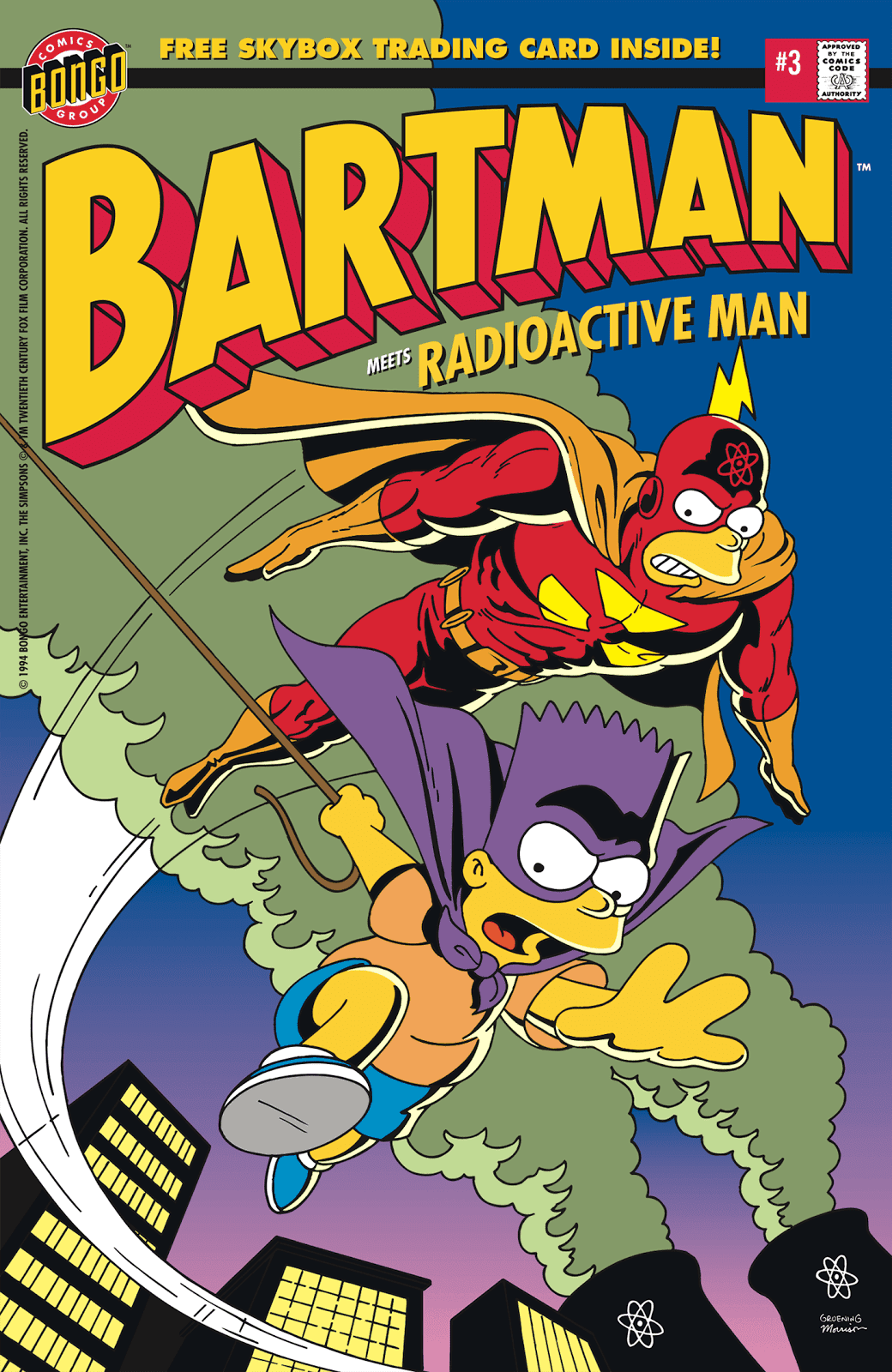Read online Bartman comic -  Issue #3 - 1