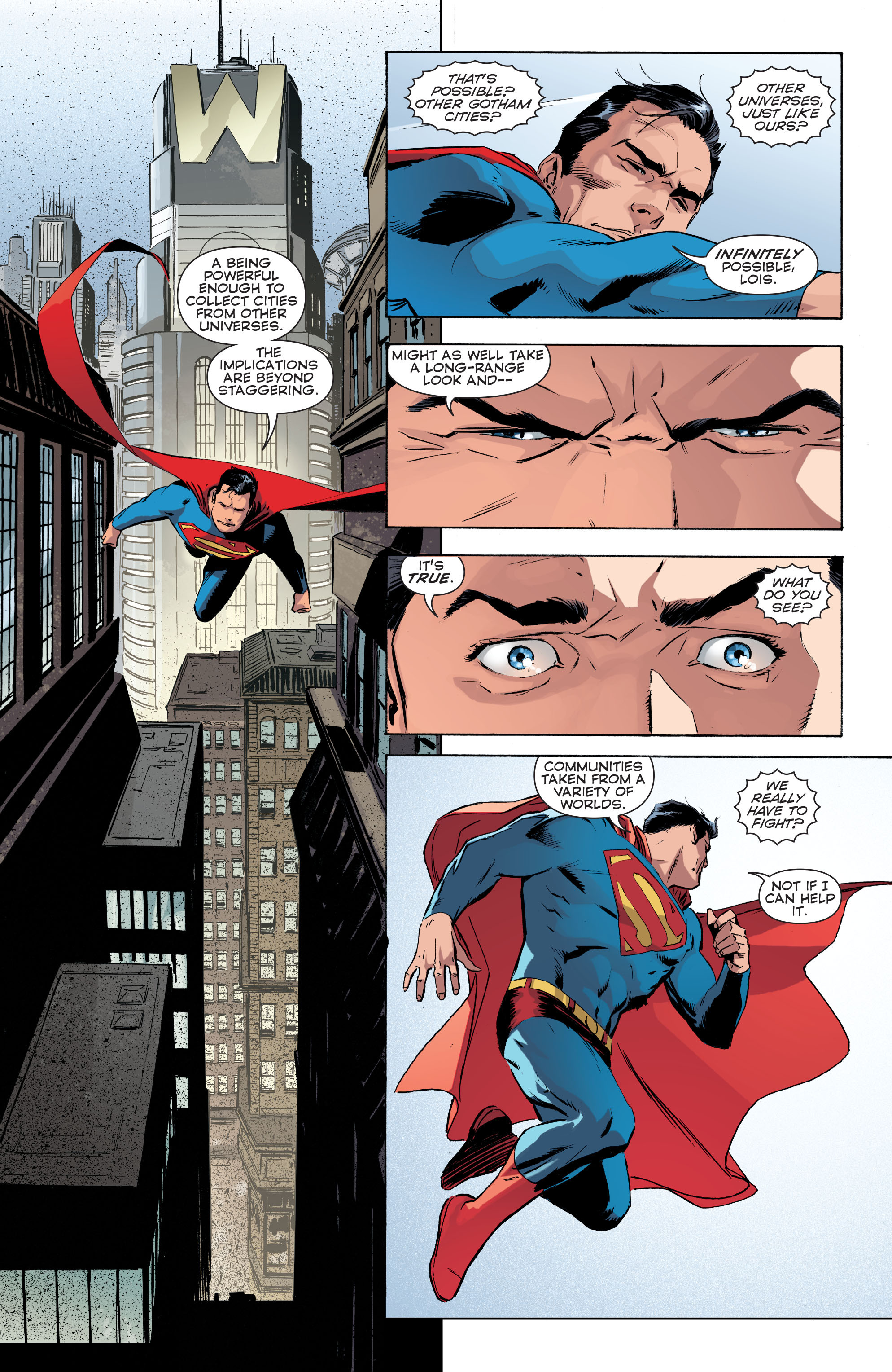 Read online Convergence Superman comic -  Issue #1 - 13