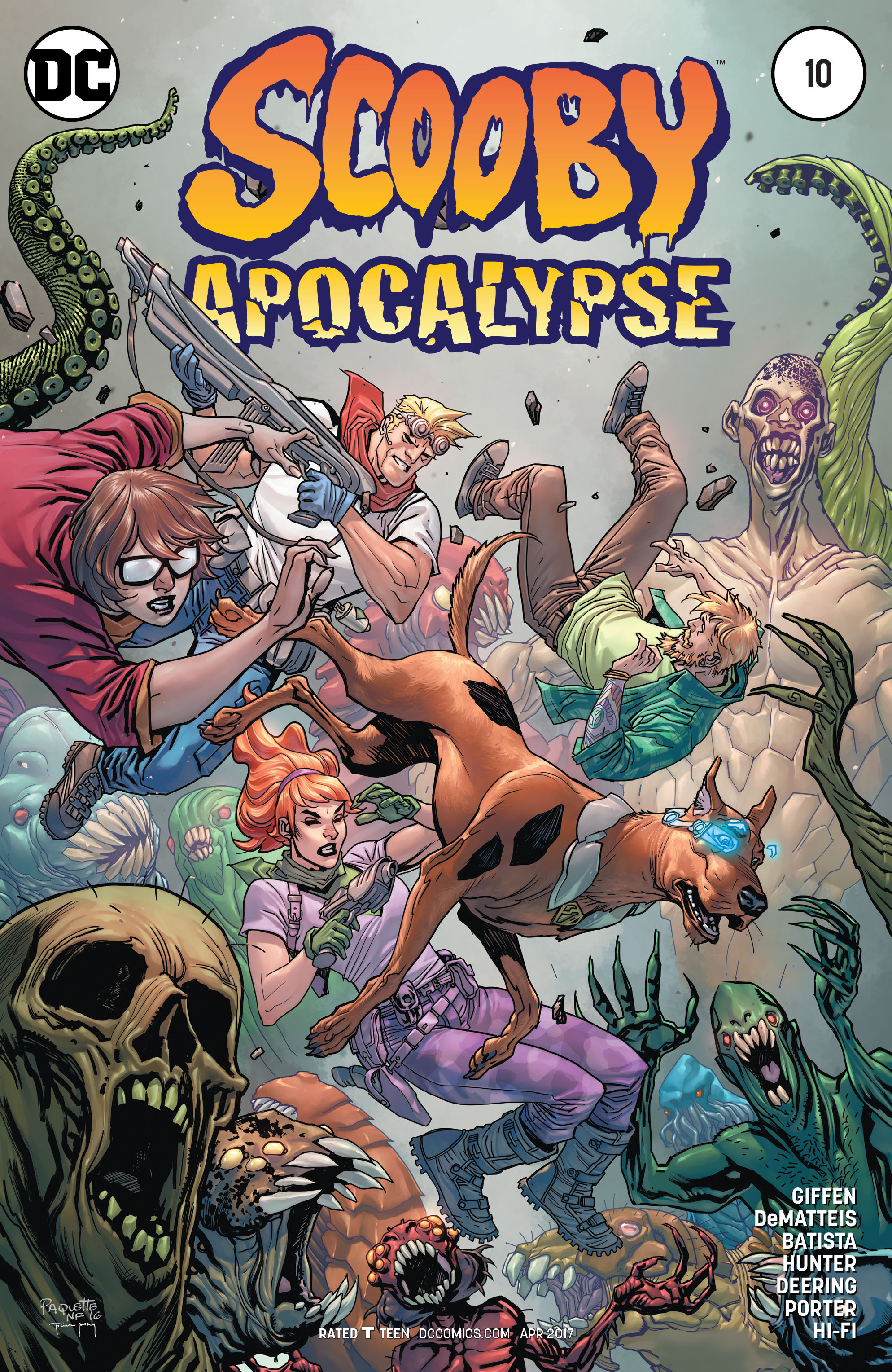 Read online Scooby Apocalypse comic -  Issue #10 - 3