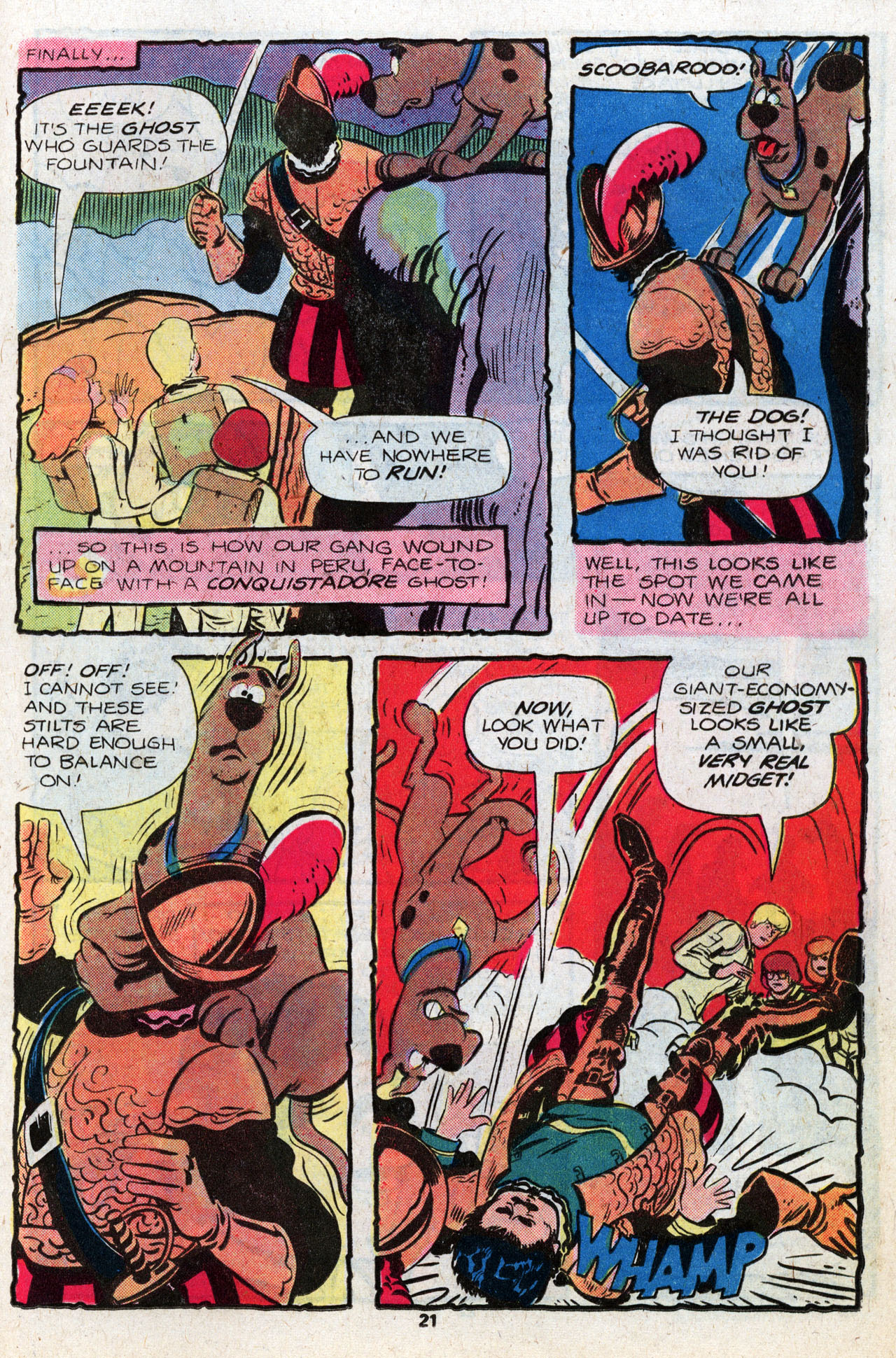 Read online Scooby-Doo (1977) comic -  Issue #8 - 22