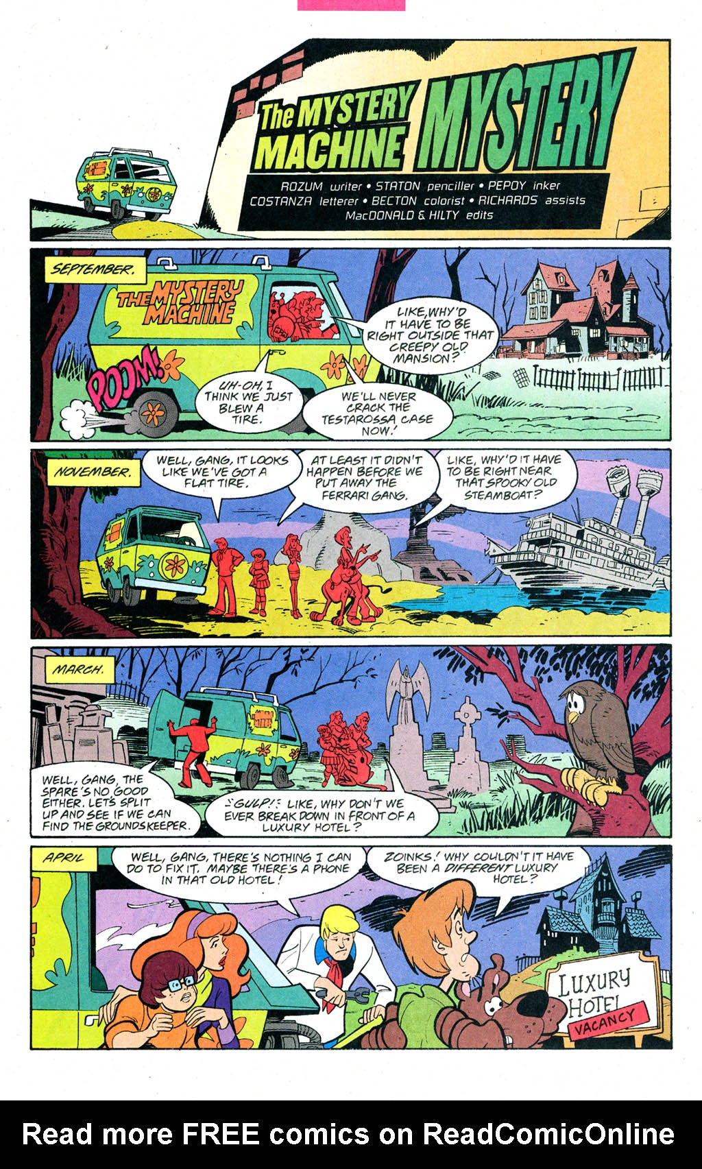 Read online Scooby-Doo (1997) comic -  Issue #90 - 30