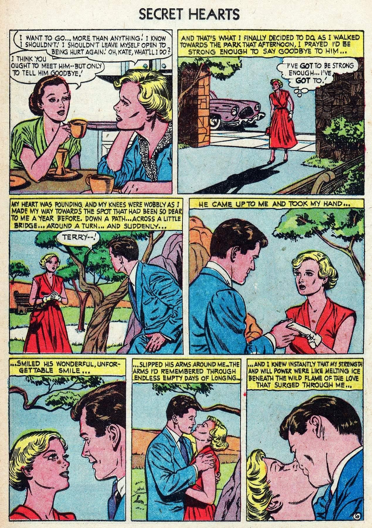 Read online Secret Hearts comic -  Issue #25 - 24