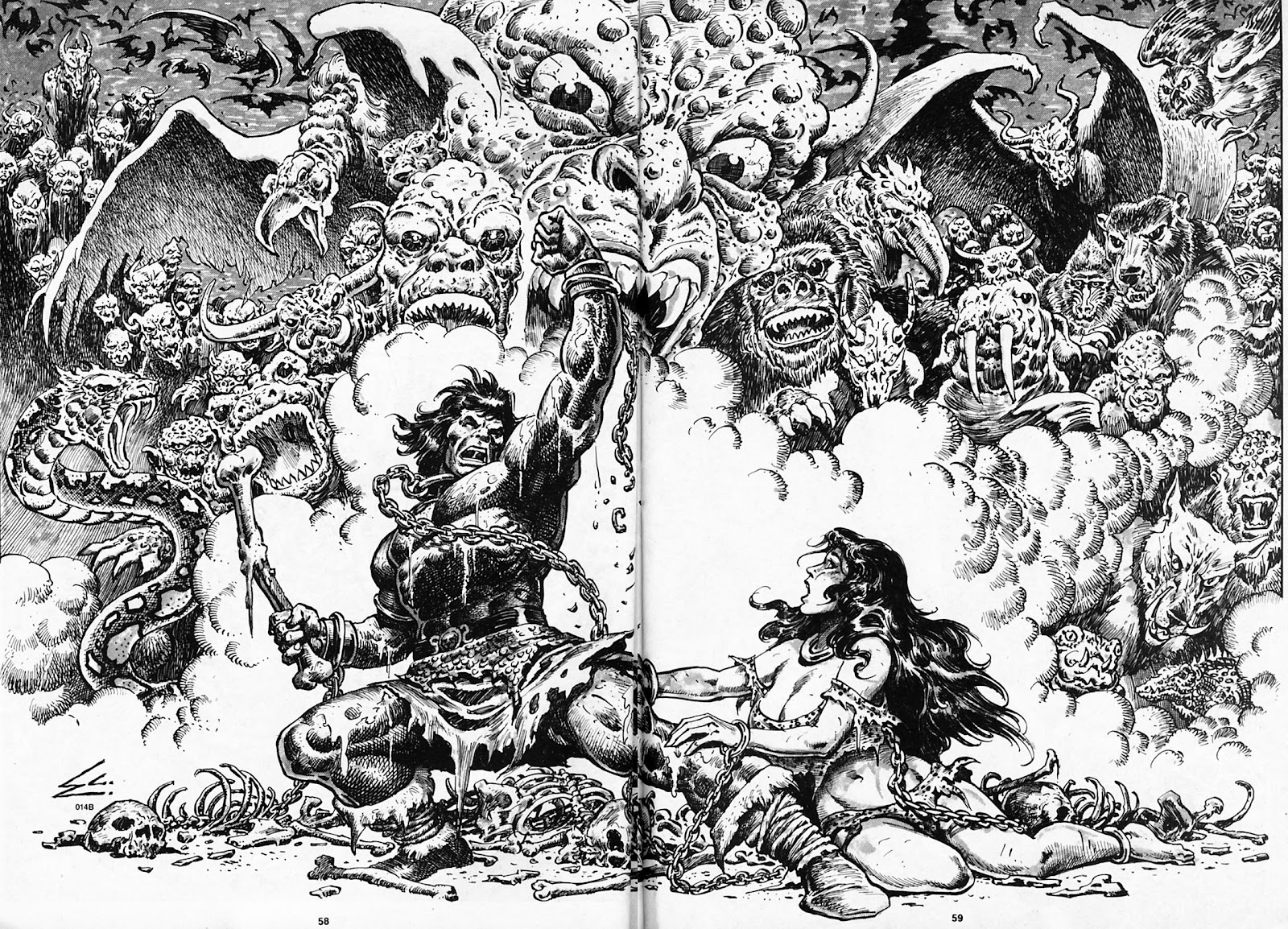 The Savage Sword Of Conan Issue #180 #181 - English 58
