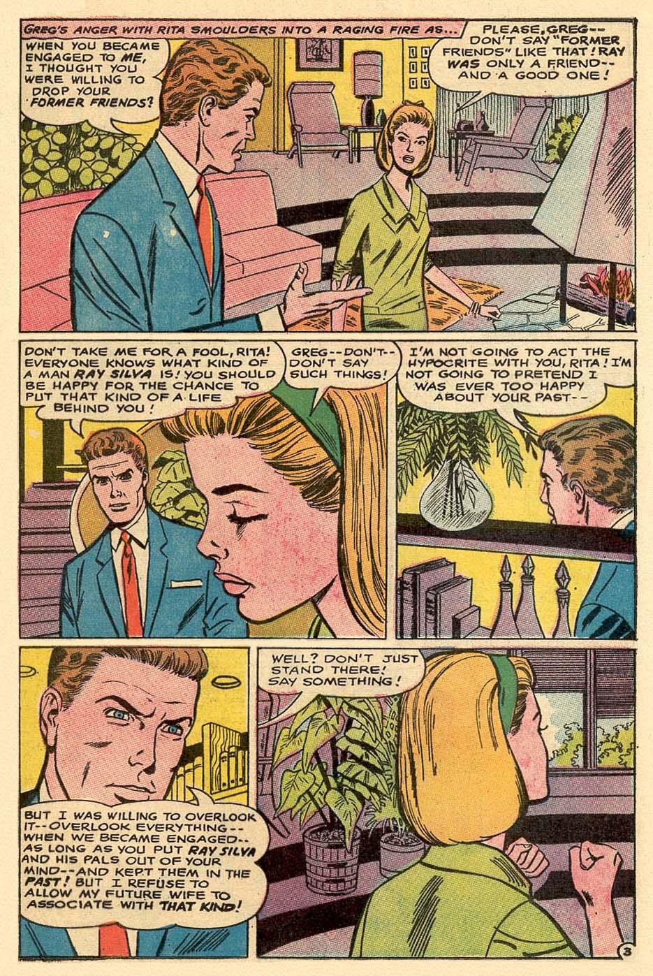 Read online Secret Hearts comic -  Issue #122 - 20