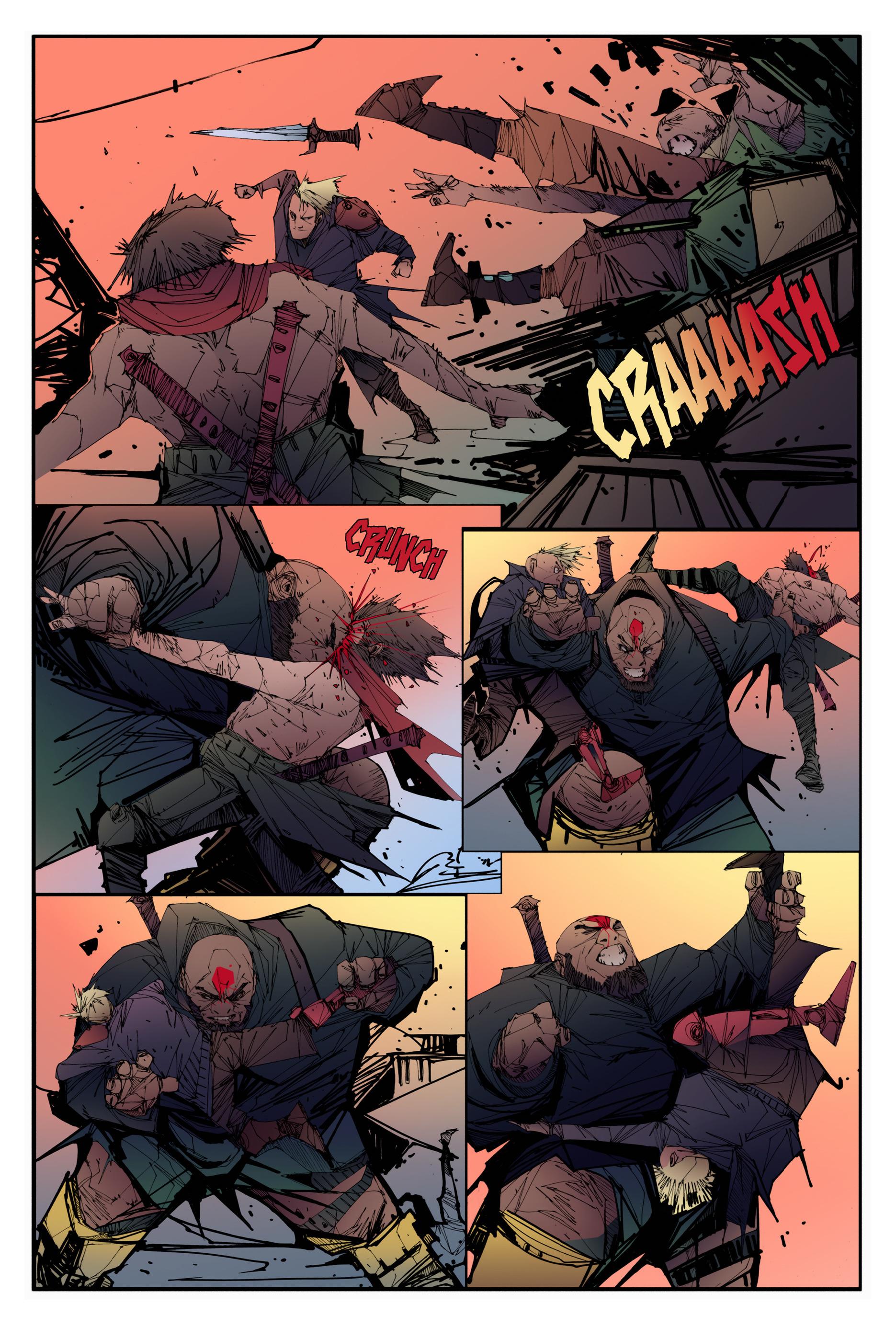 Read online Scrimshaw comic -  Issue #3 - 7