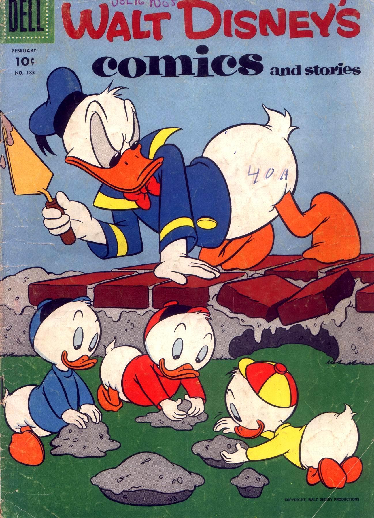 Walt Disneys Comics and Stories 185 Page 1