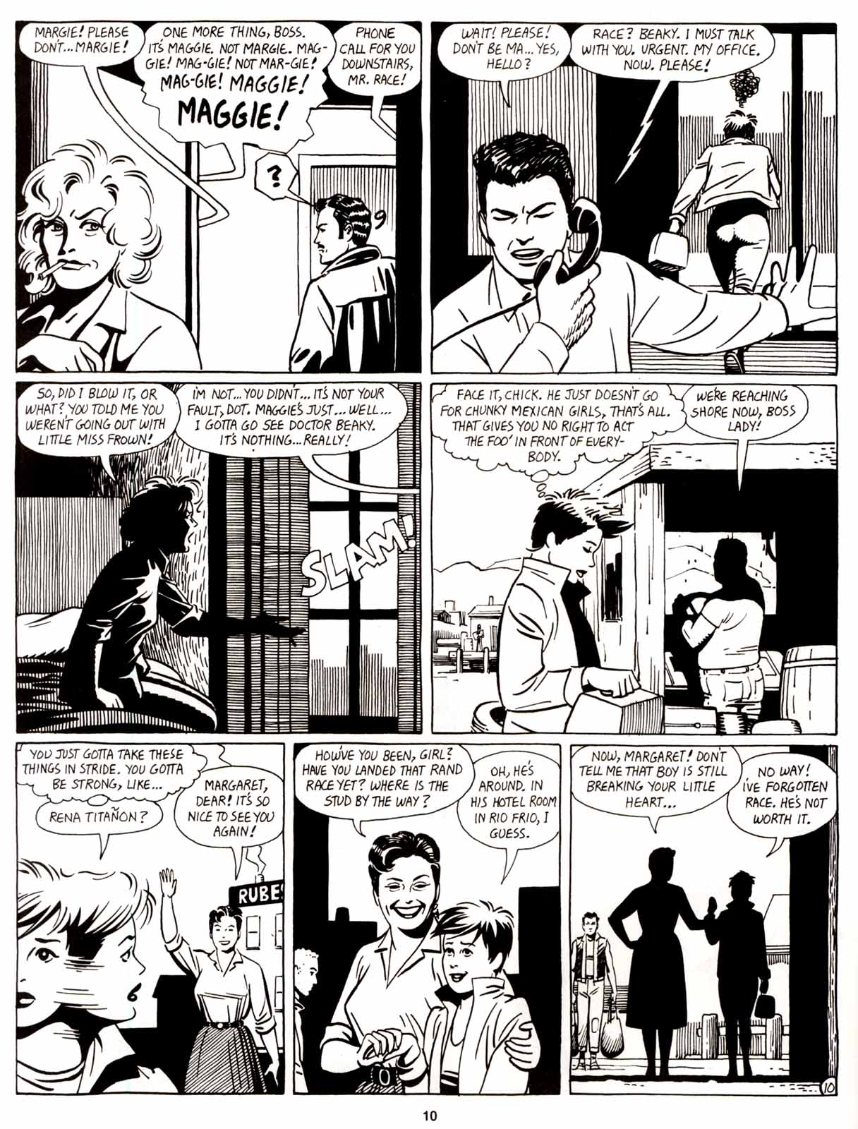 Love and Rockets (1982) Issue #8 #7 - English 12