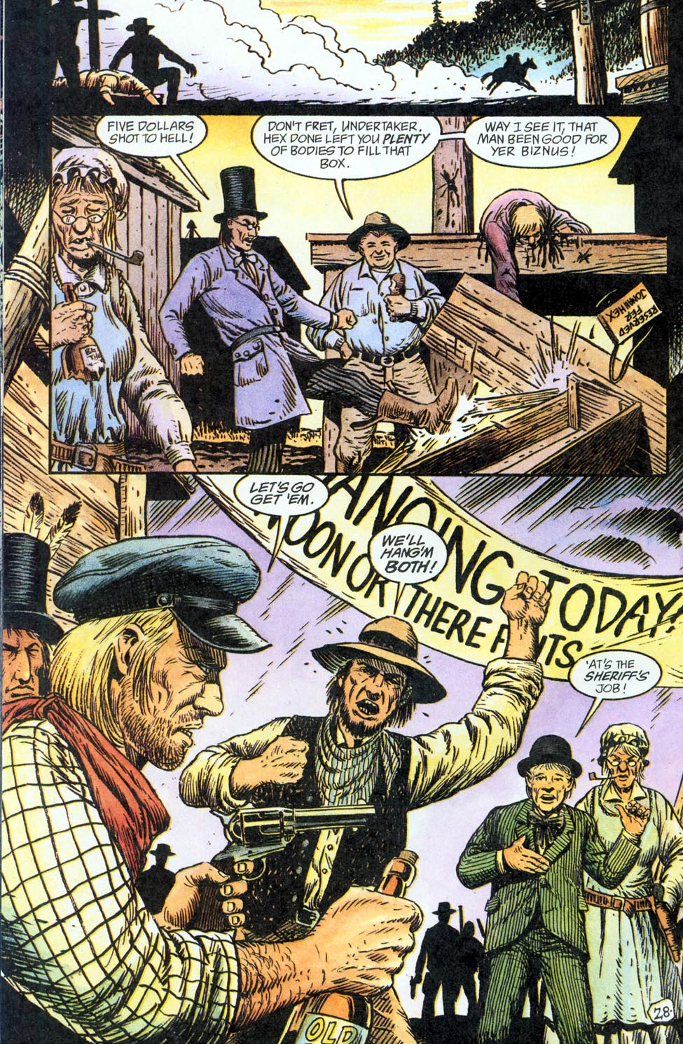 Jonah Hex: Two-Gun Mojo Issue #2 #2 - English 29