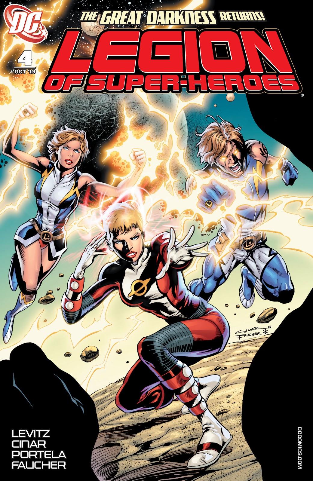 Legion of Super-Heroes (2010) Issue #4 #5 - English 1
