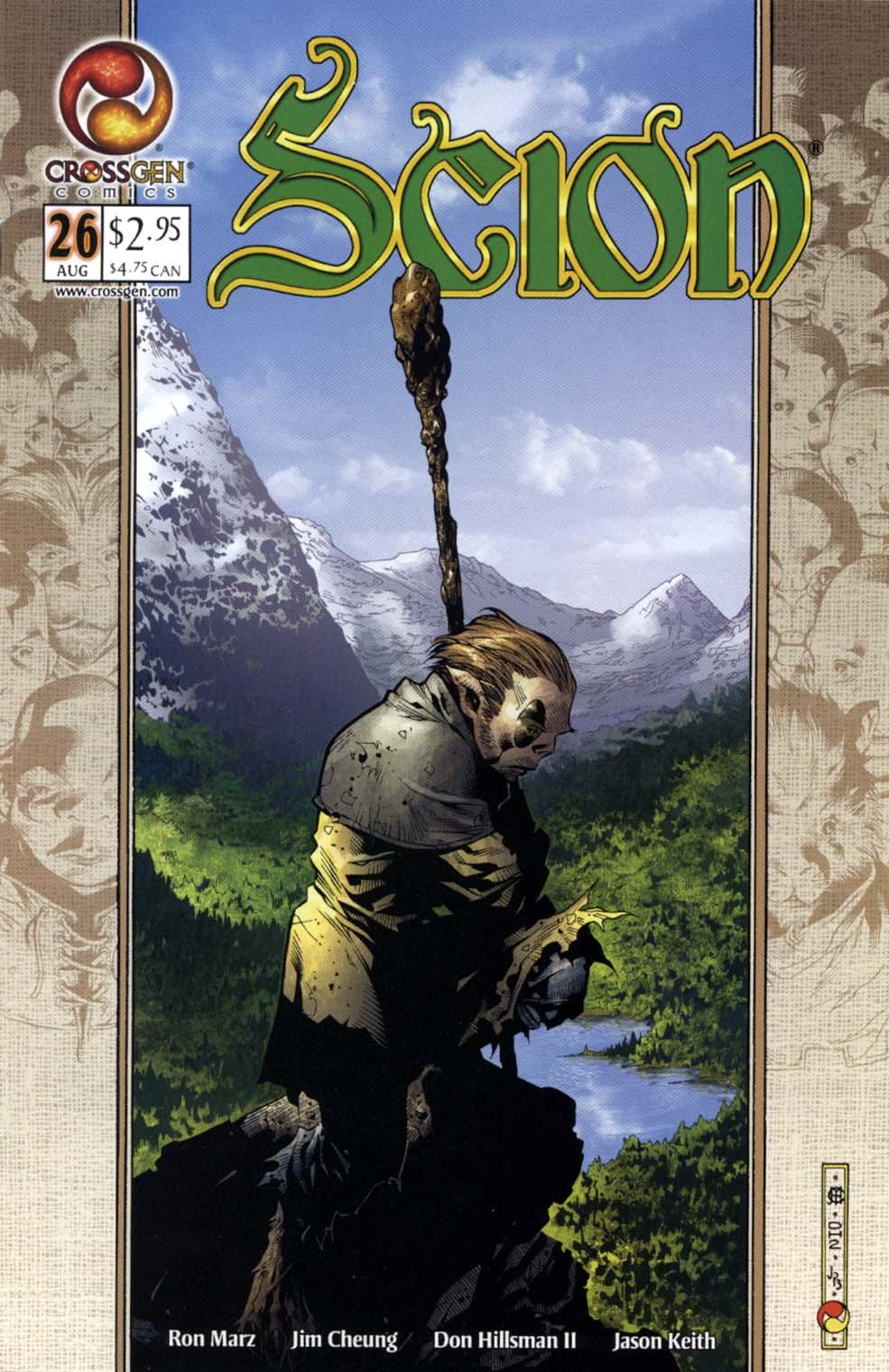 Read online Scion comic -  Issue #26 - 1
