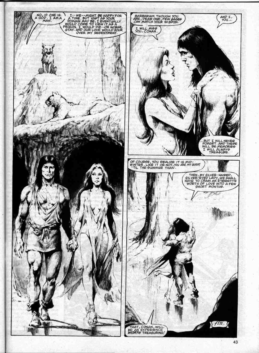 The Savage Sword Of Conan Issue #74 #75 - English 42