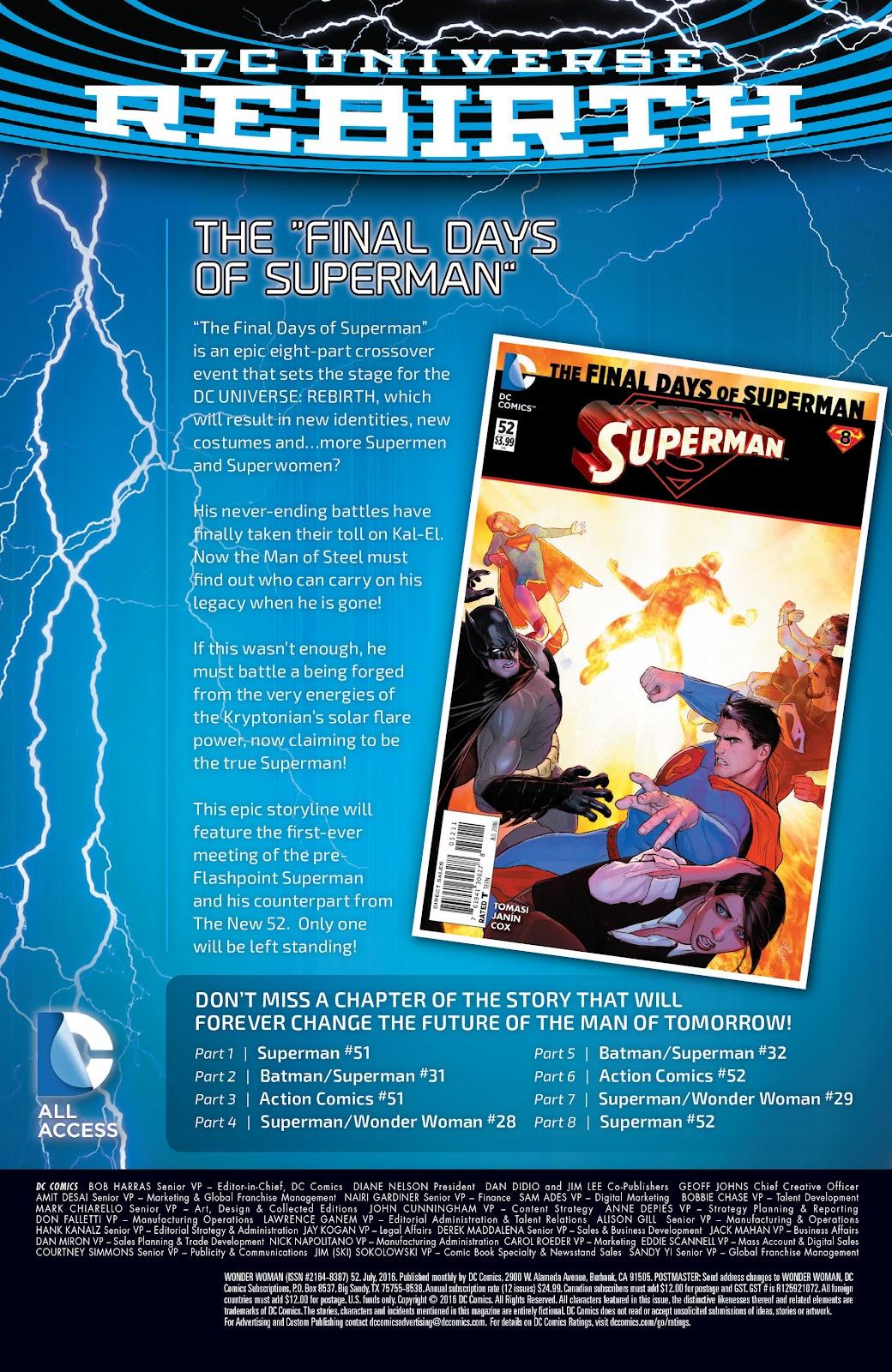 Wonder Woman (2011) Issue #52 #56 - English 31