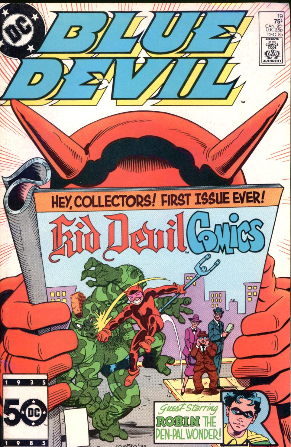 Blue Devil 19 Page 1