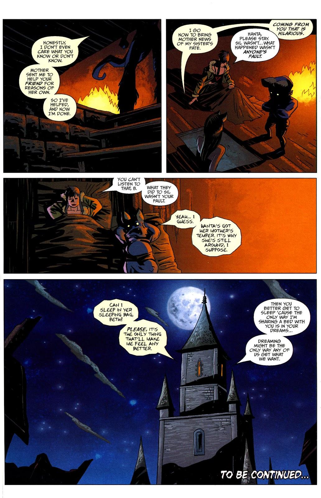Strange Girl Issue #16 #17 - English 24