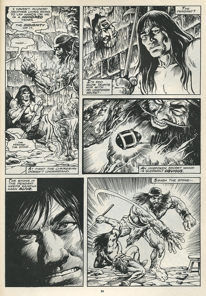 The Savage Sword Of Conan Issue #174 #175 - English 53