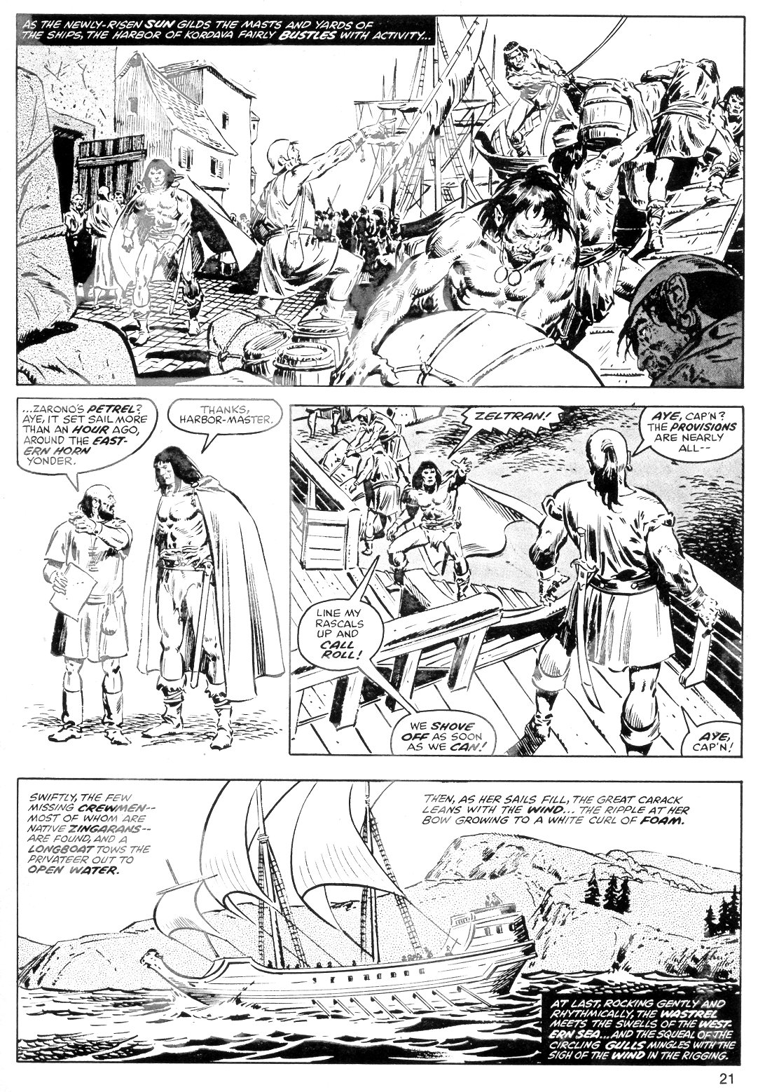 The Savage Sword Of Conan Issue #40 #41 - English 21