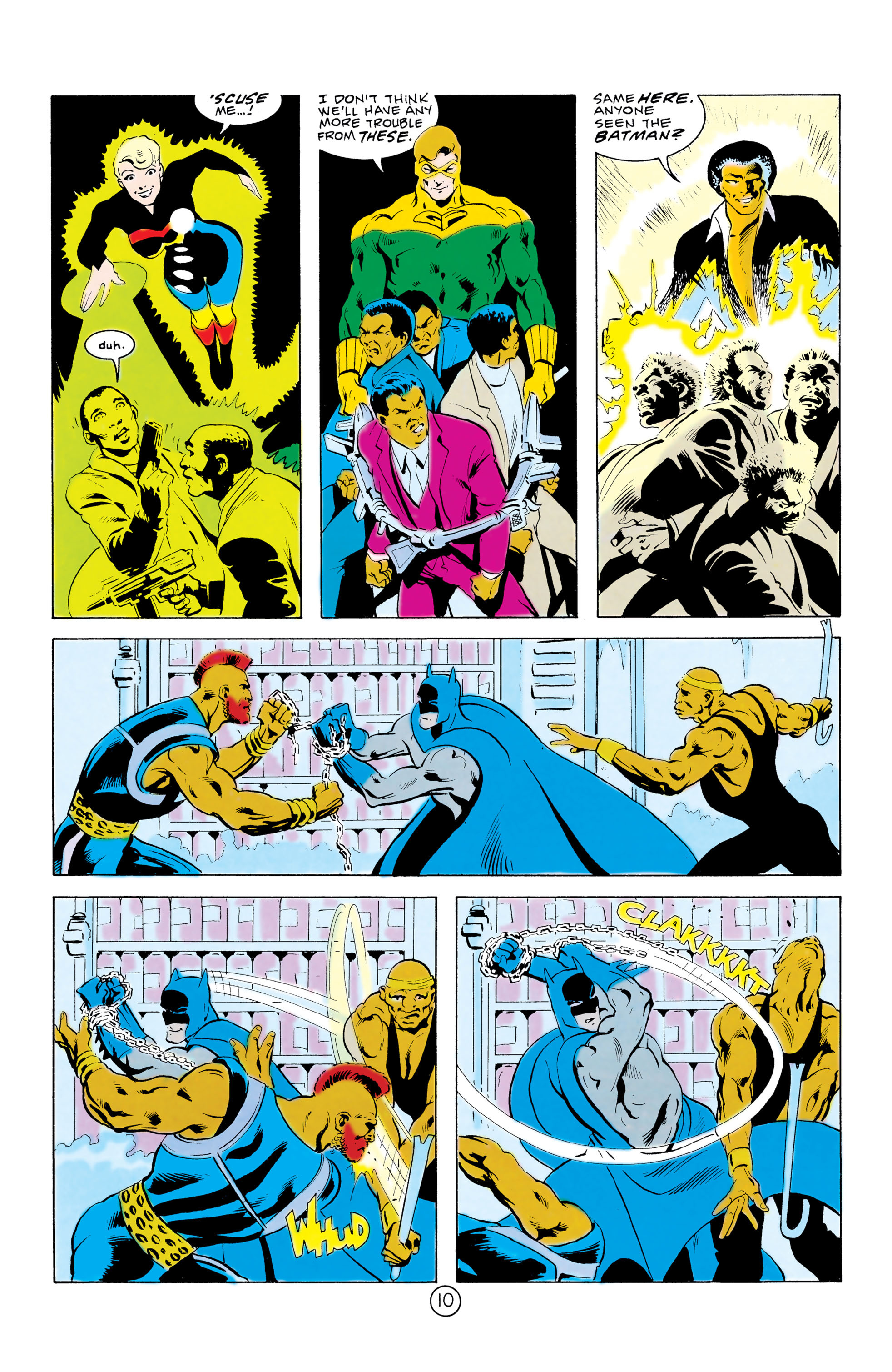 Batman and the Outsiders (1983) 32 Page 10