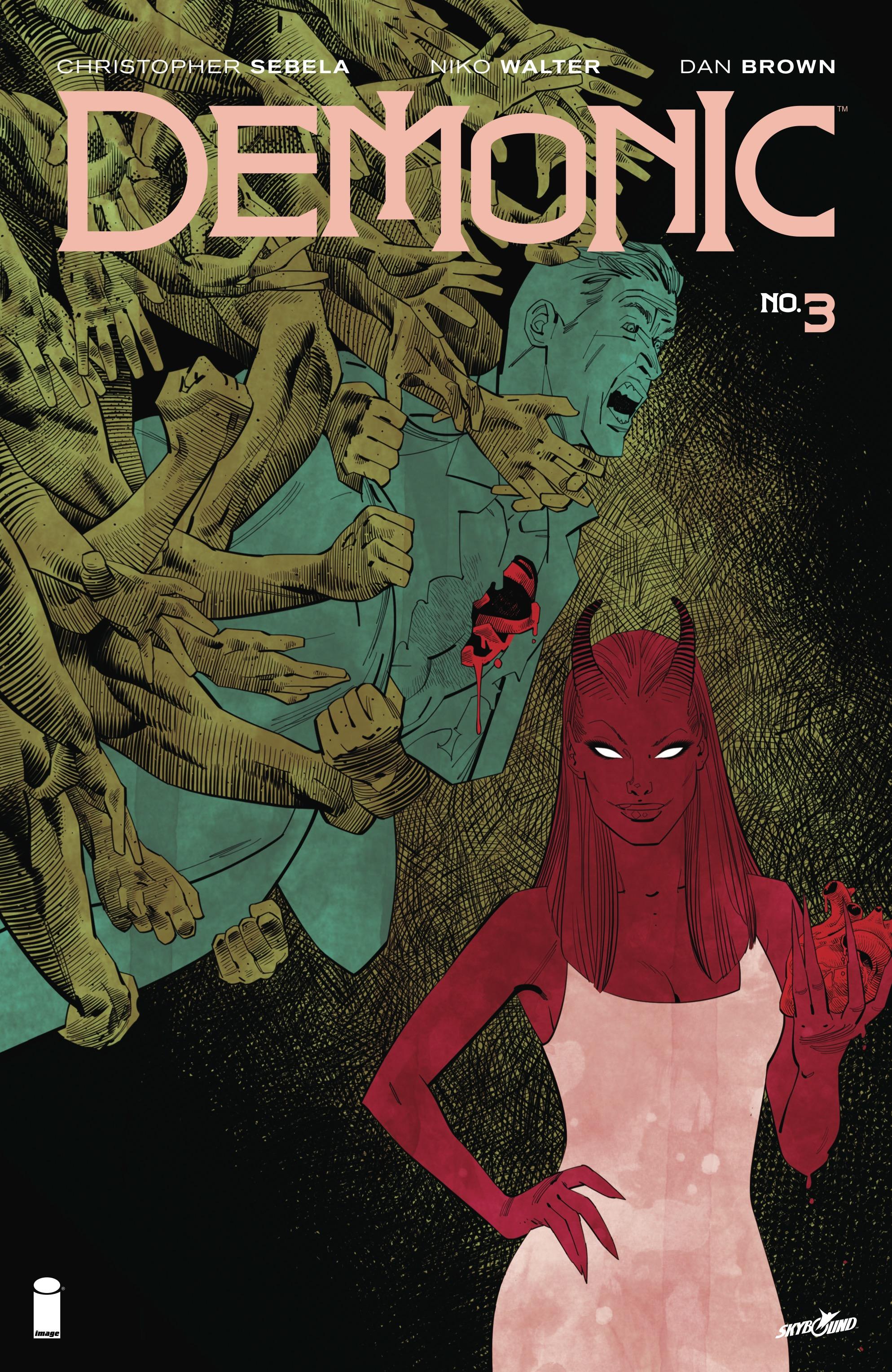 Read online Demonic comic -  Issue #3 - 1