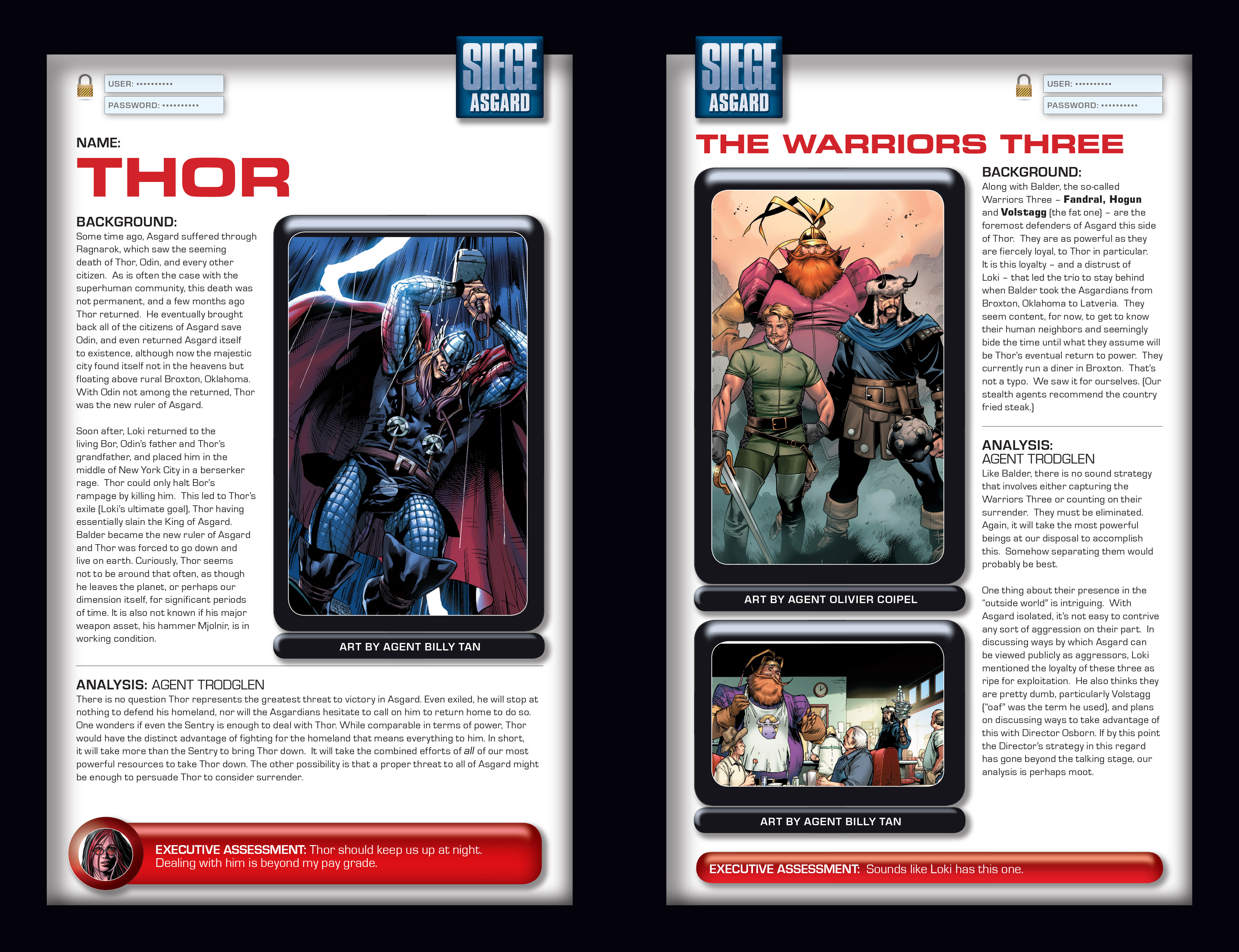 Read online Siege: Storming Asgard - Heroes and Villains comic -  Issue # Full - 8