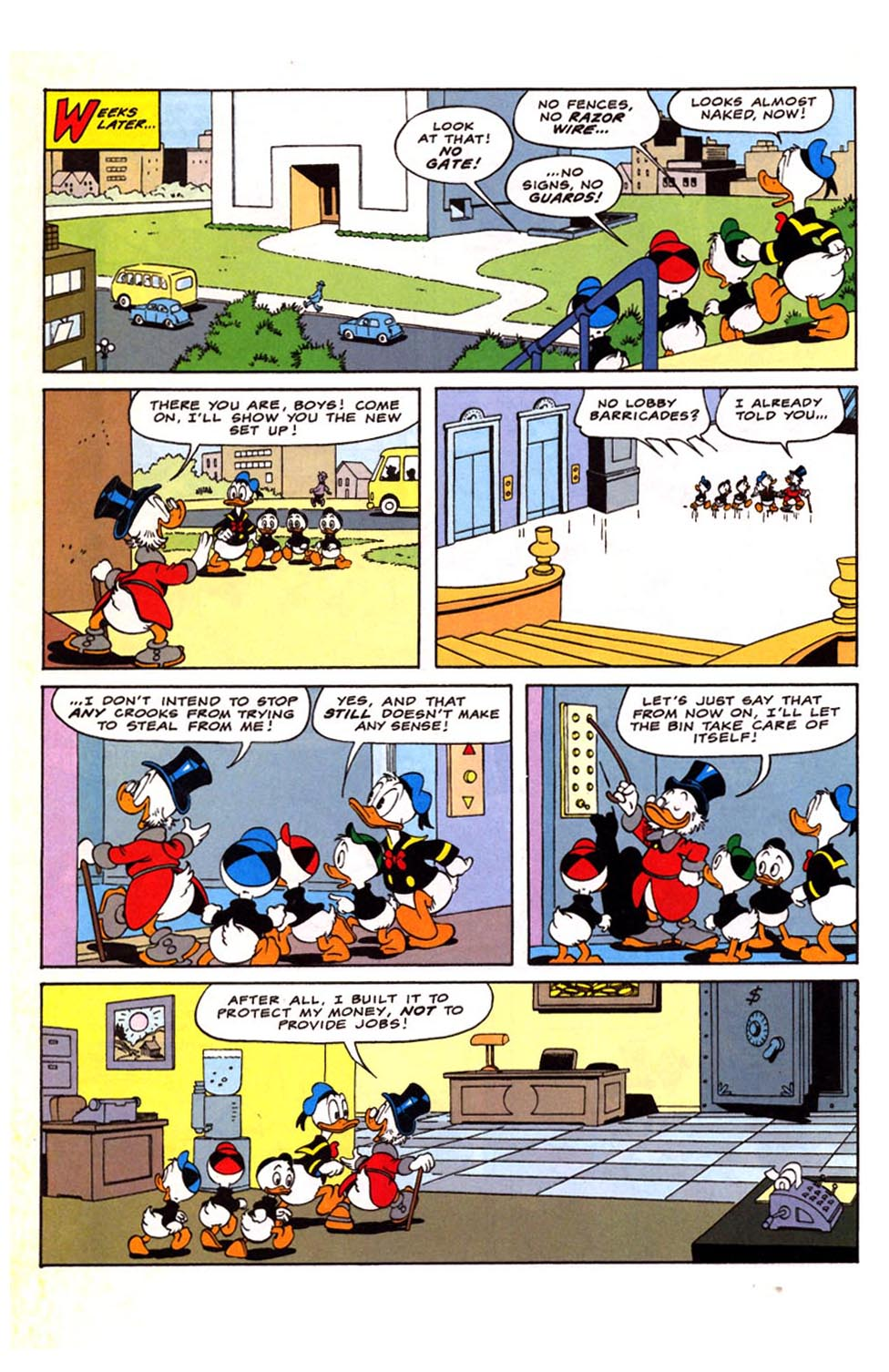 Uncle Scrooge (1953) Issue #281 #281 - English 17