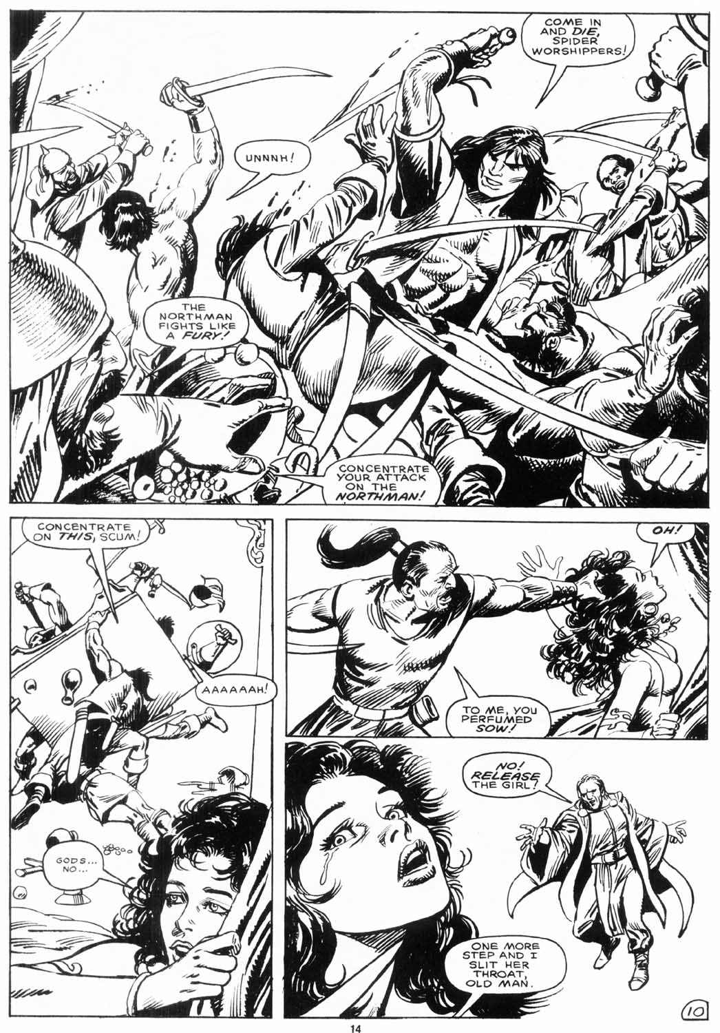 The Savage Sword Of Conan Issue #156 #157 - English 15