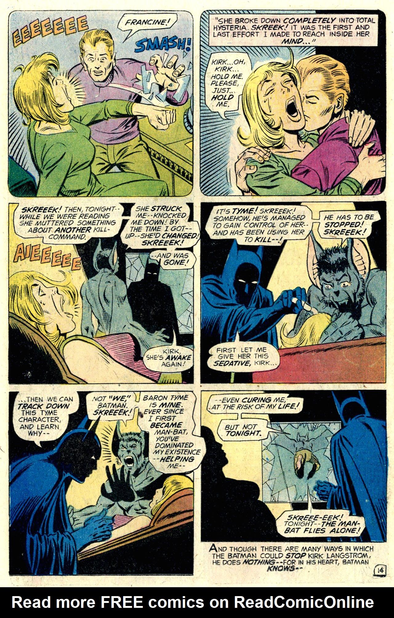 Hv >> Man-Bat #1 - Read Man-Bat Issue #1 Online   Full Page