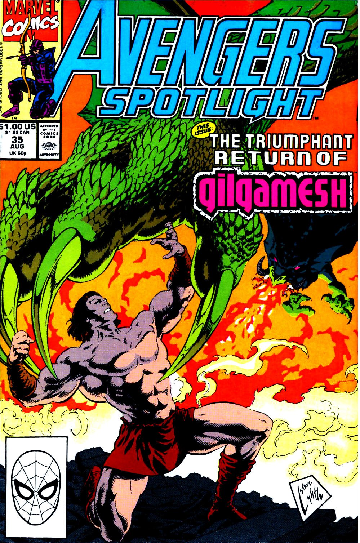 Avengers Spotlight 35 Page 1