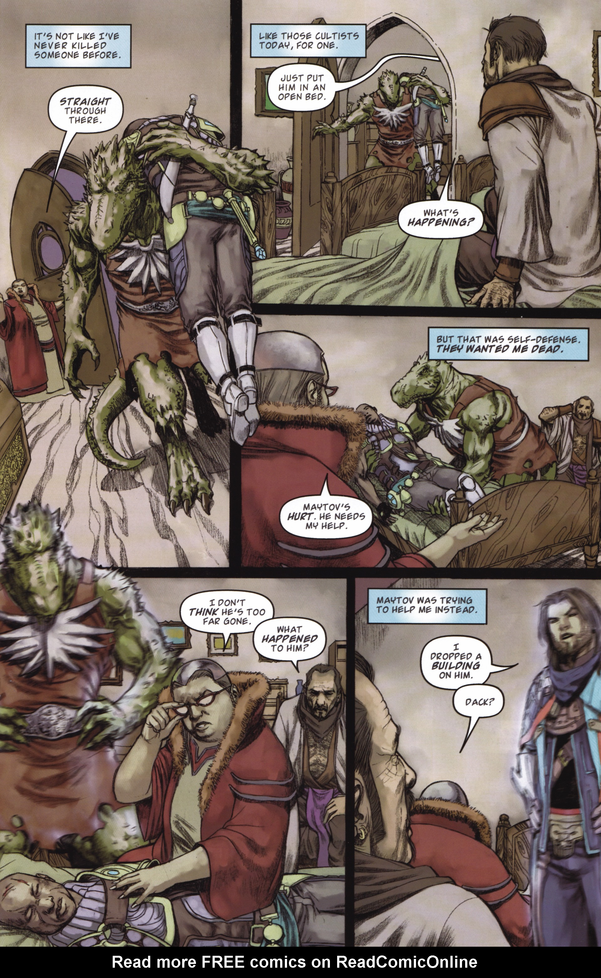 Read online Magic: The Gathering--Path of Vengeance comic -  Issue #2 - 17