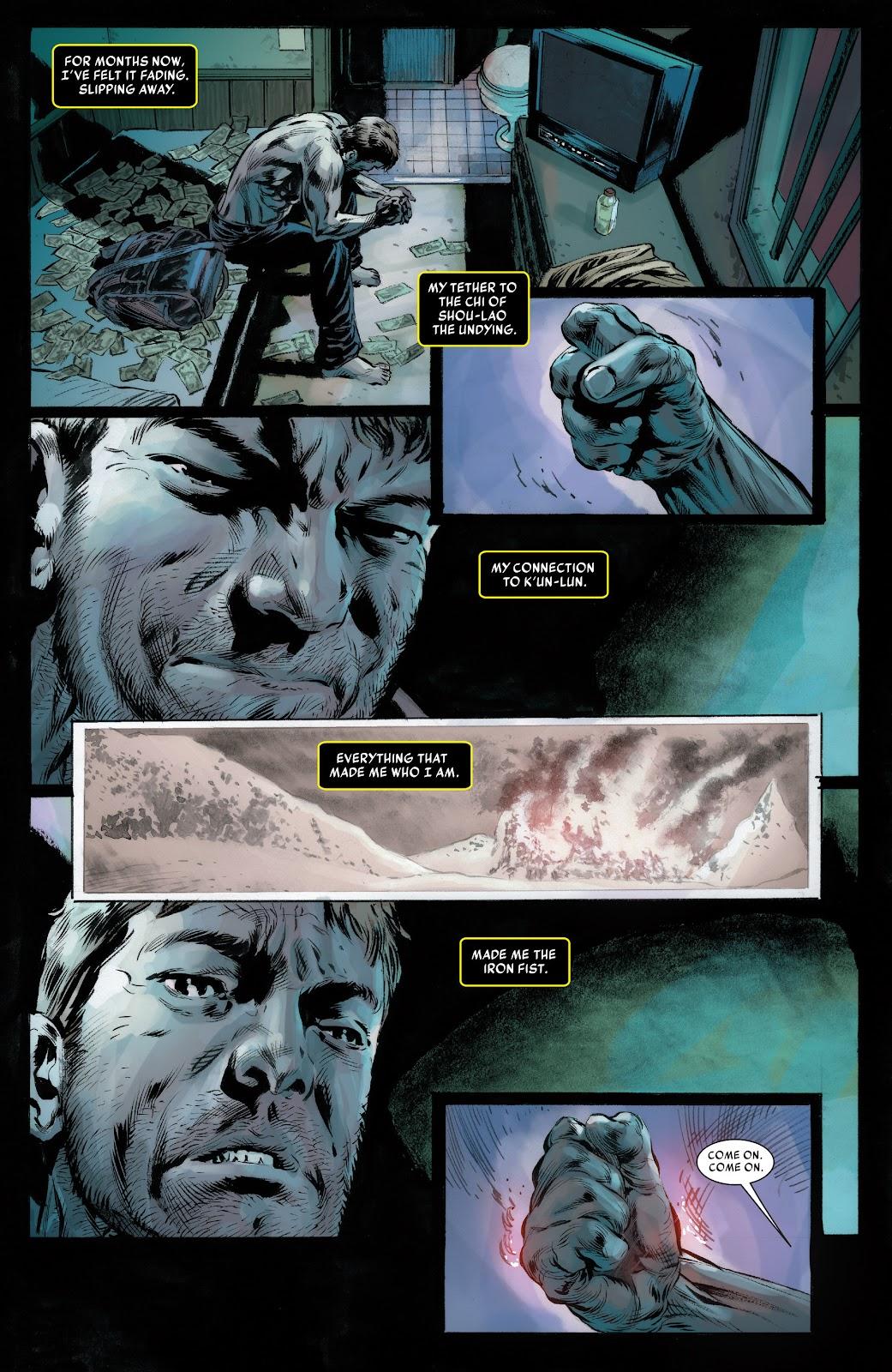 Iron Fist (2017) Issue #1 #1 - English 14