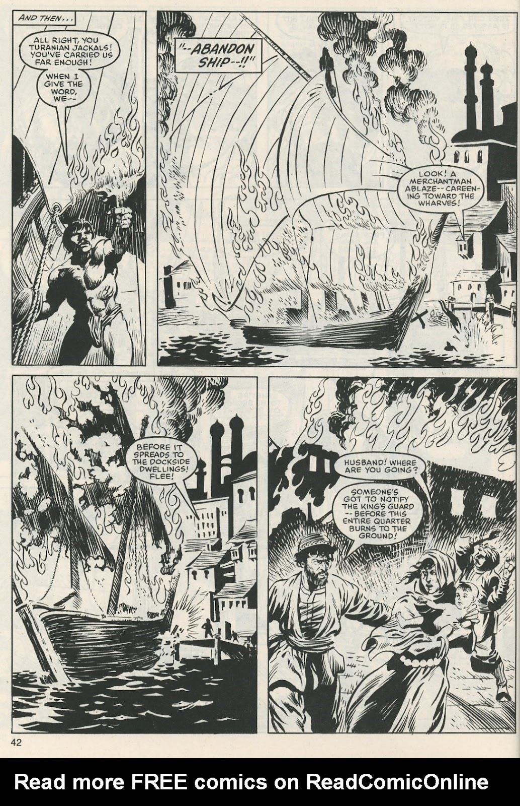The Savage Sword Of Conan Issue #112 #113 - English 43